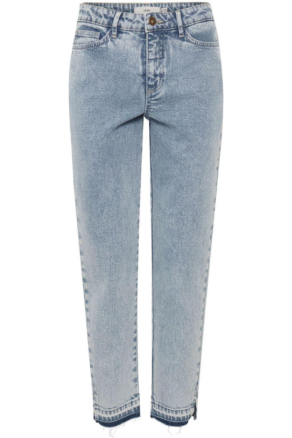 ICHI Jeans Ihmada Nti voor dames - Blauw - Maten: 26, 27, 28, 29, 30, 31, 32