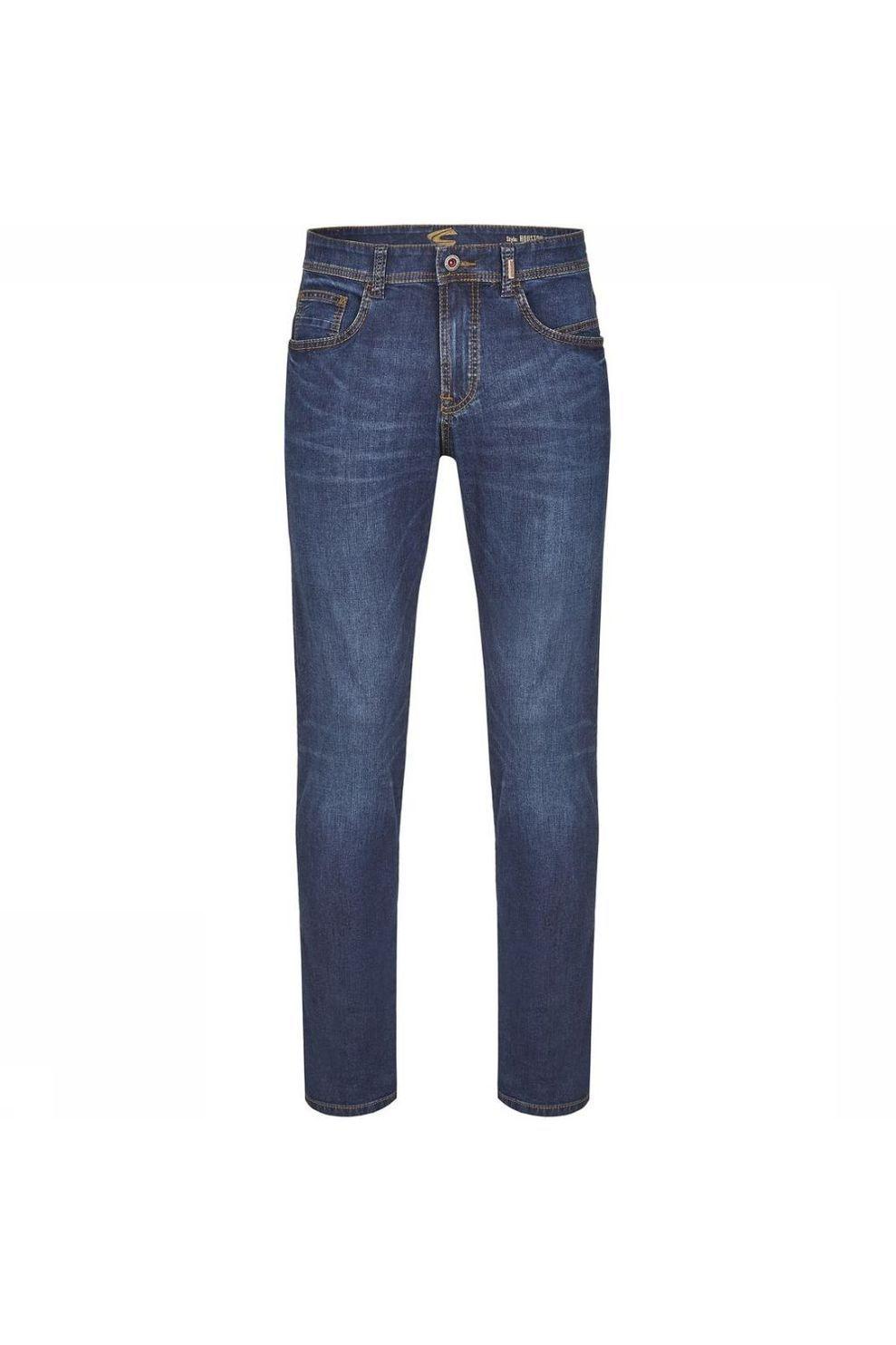 camel active Jeans 5-Pocket Houston voor heren - Blauw - Maat: 40/34