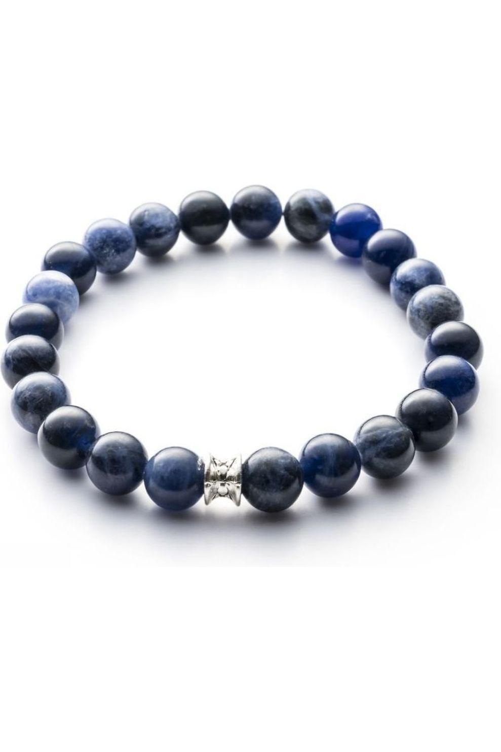 Gemini Armband B4 voor heren Blauw Maten: S, M