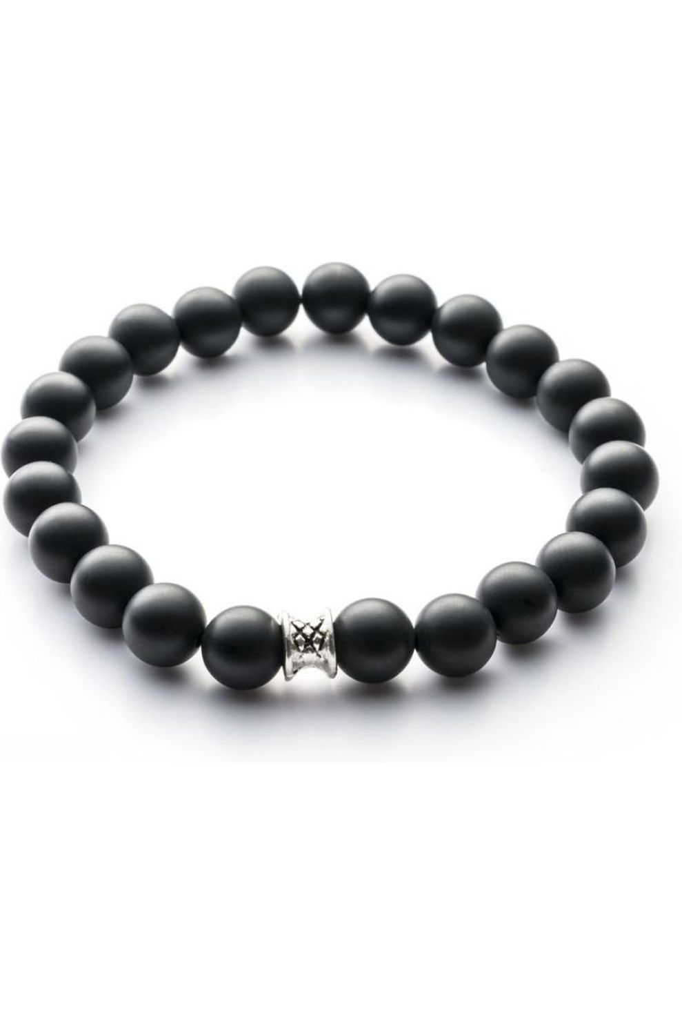 Gemini Armband B9 voor heren Zwart Maten: S, M