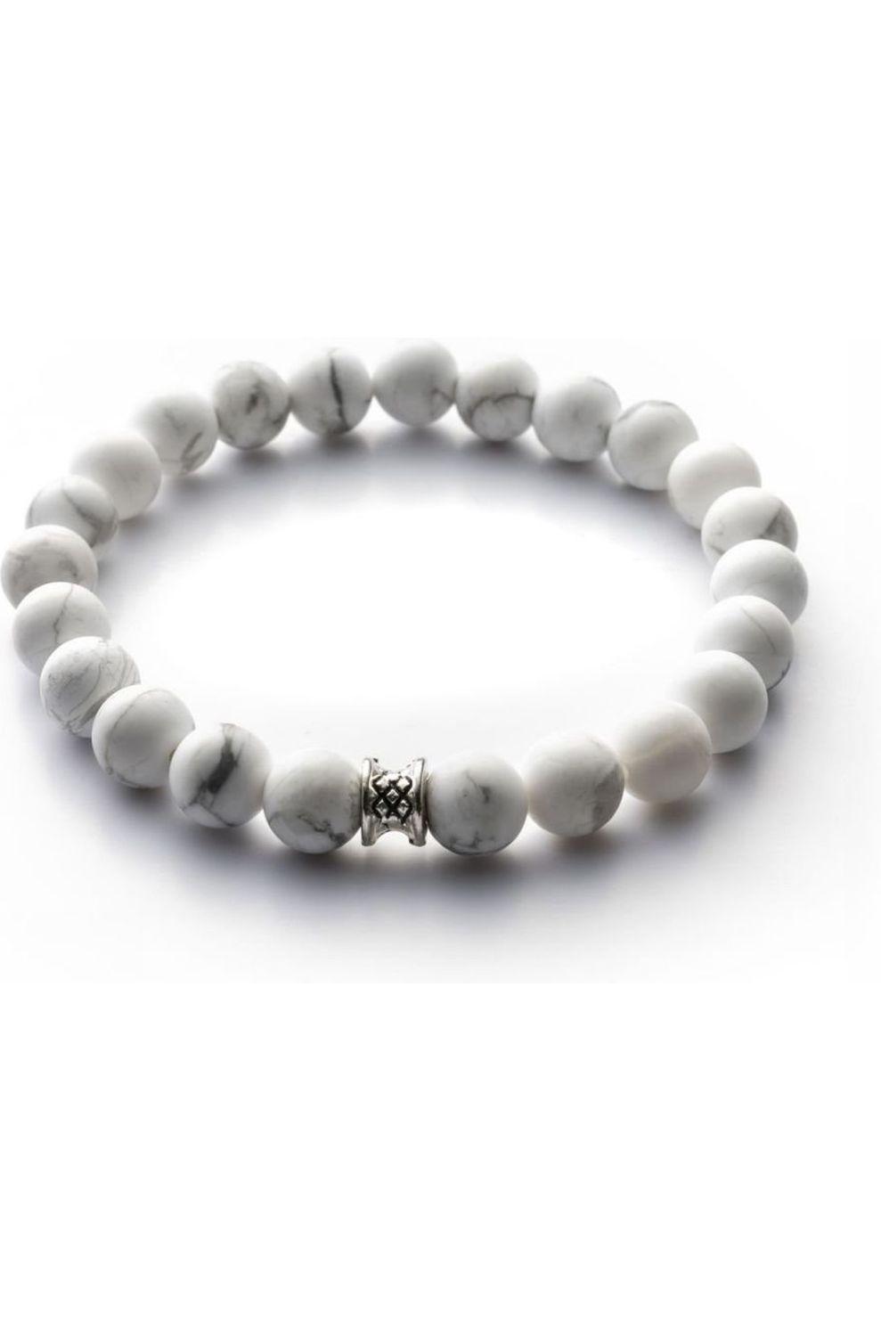 Gemini Armband B14 voor heren Wit Maten: S, M