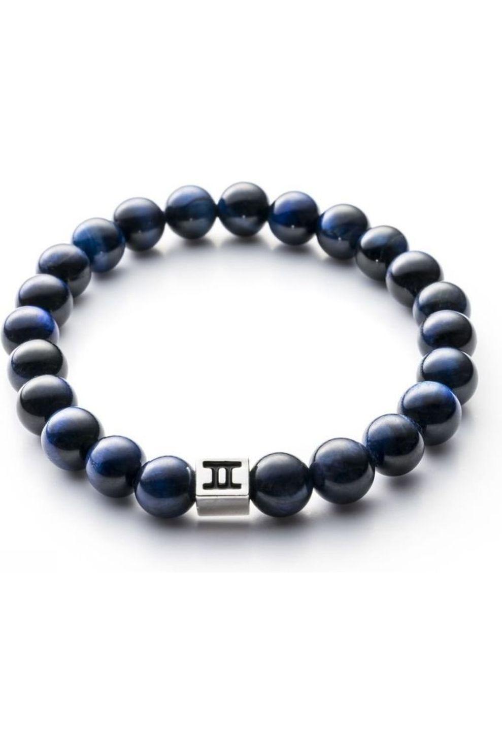 Gemini Armband C16 voor heren Blauw Maten: S, M