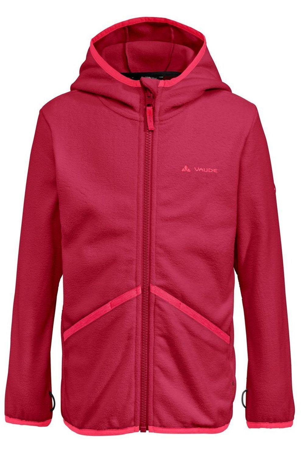 VAUDE Fleece Pulex Hooded voor meisjes - Roze -