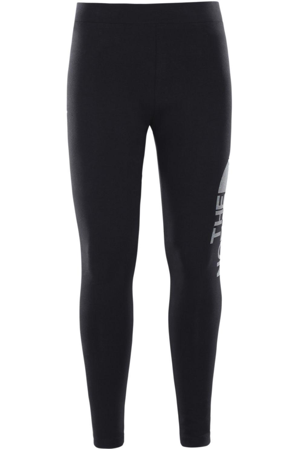 The North Face Broek Cotton Blend Legging voor meisjes - Zwart/Wit - Maat: 164