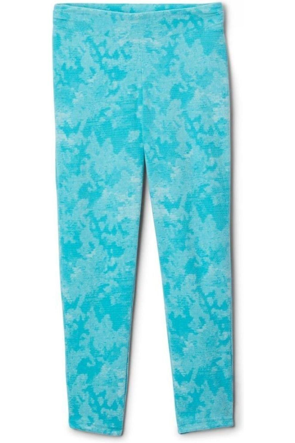Columbia Broek Glacial Printed voor meisjes - Blauw - Maat: 128