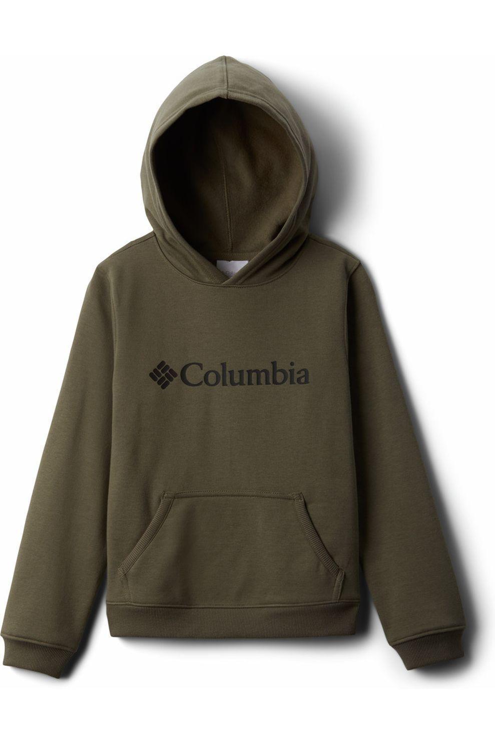Columbia Trui Park Hoodie voor jongens - DonkerGroen - Maat: M