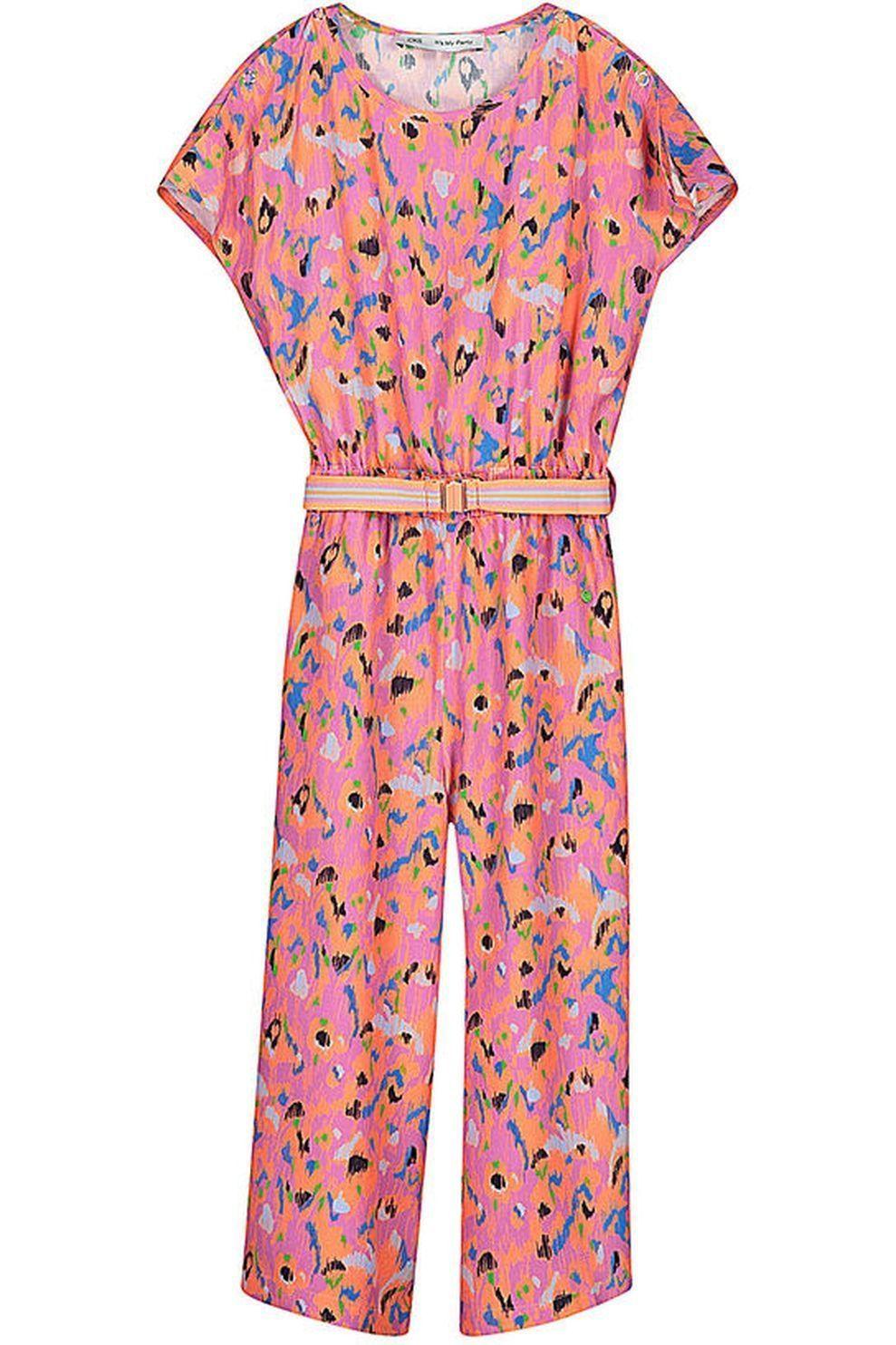 CKS Kids Jumpsuit Gardena voor meisjes - Roze/ Gemengd - Maten: 128, 140, 152, 164