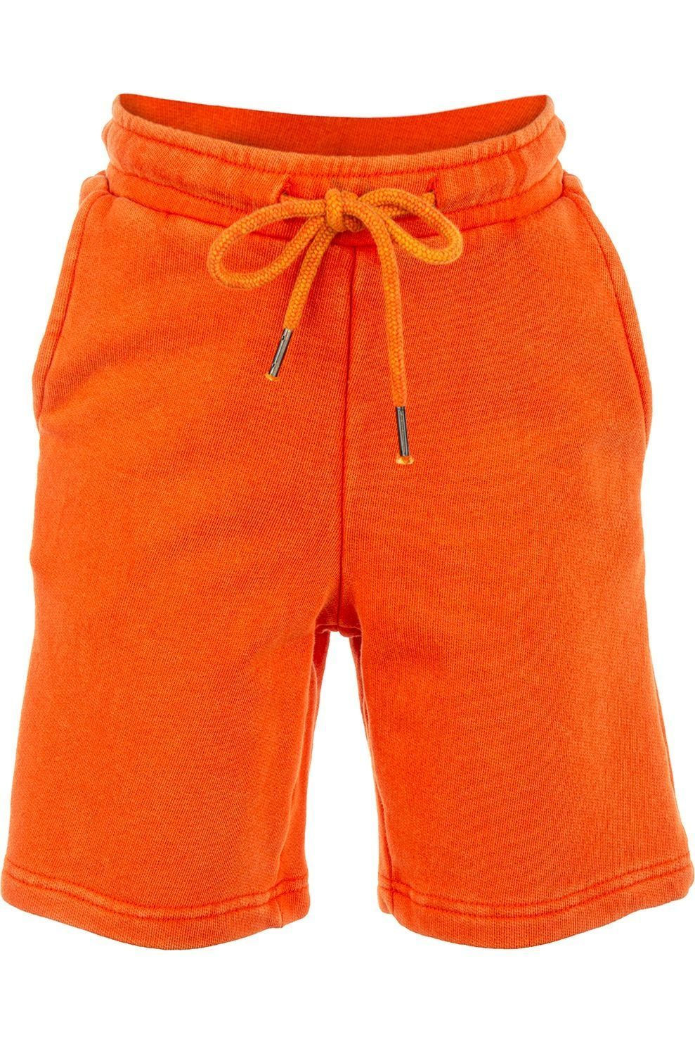 STONES and BONES Short Rowan - Washed voor jongens - Oranje - Maten: 116, 128, 140, 152