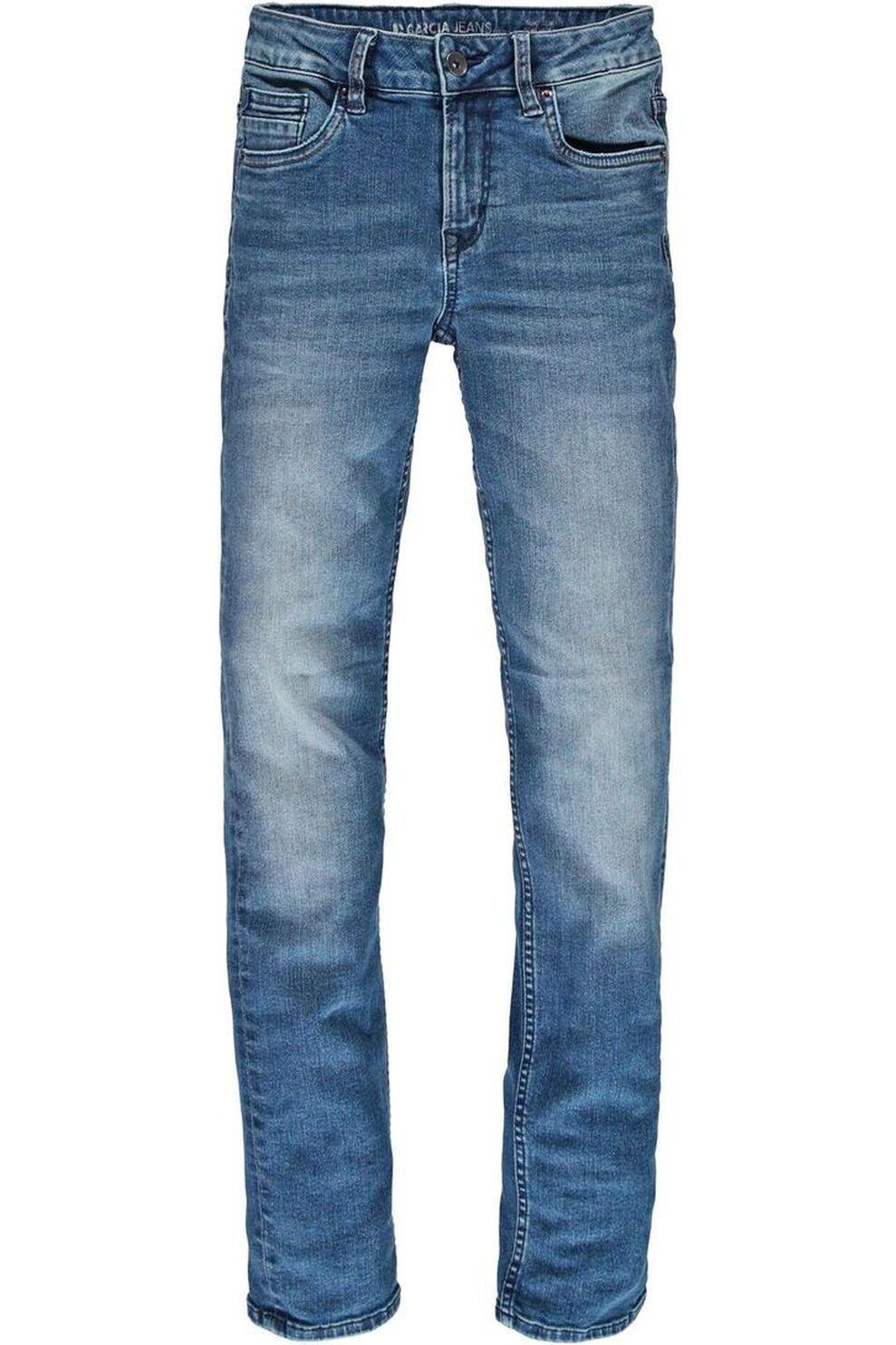 Garcia Jeans 335 voor jongens - Denim - Blauw - Maten: 140, 152, 158, 164, 170, 176