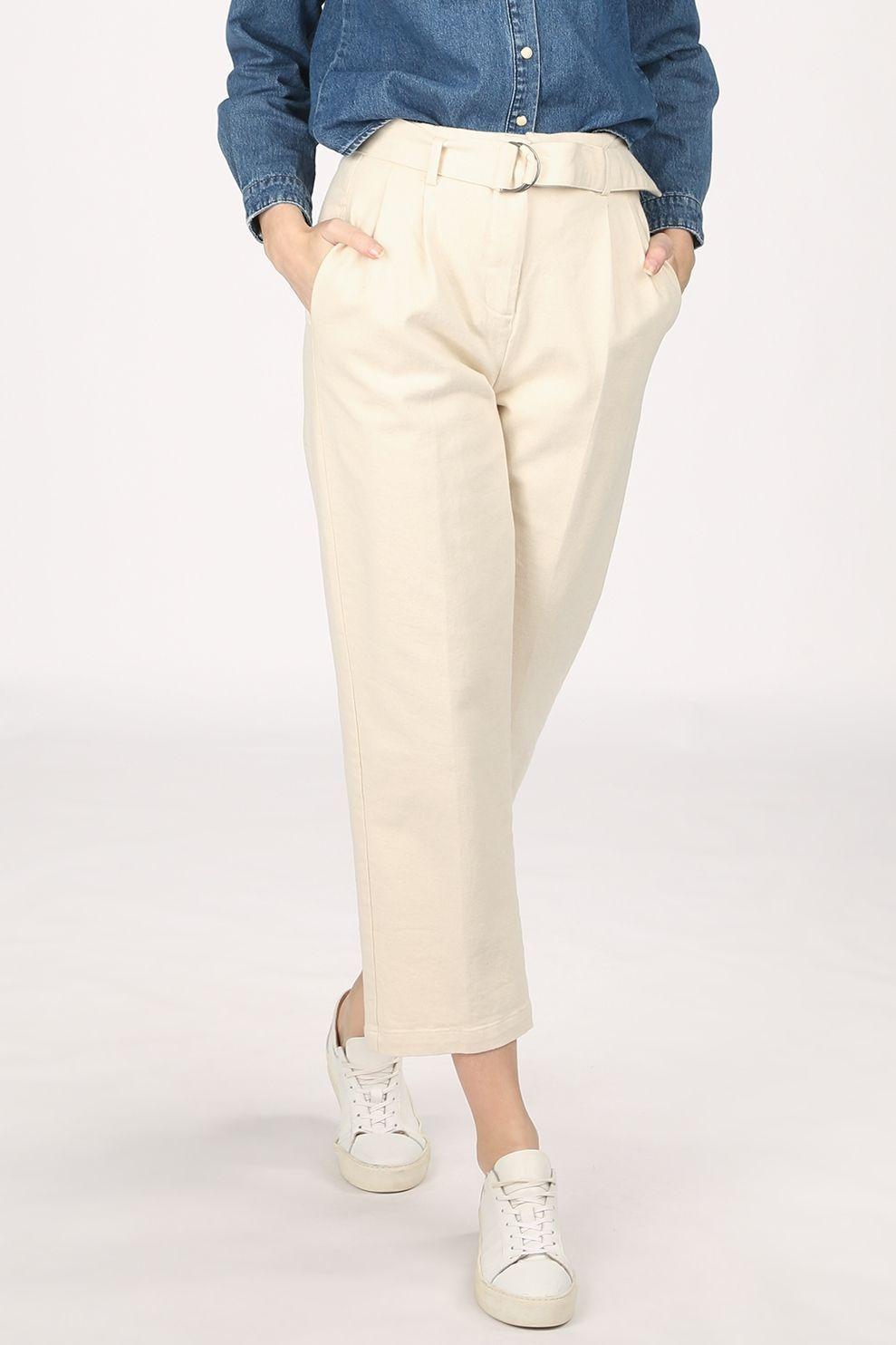 Numph Jeans Nucairos voor dames - Wit - Maten: 34, 36, 38, 40, 42