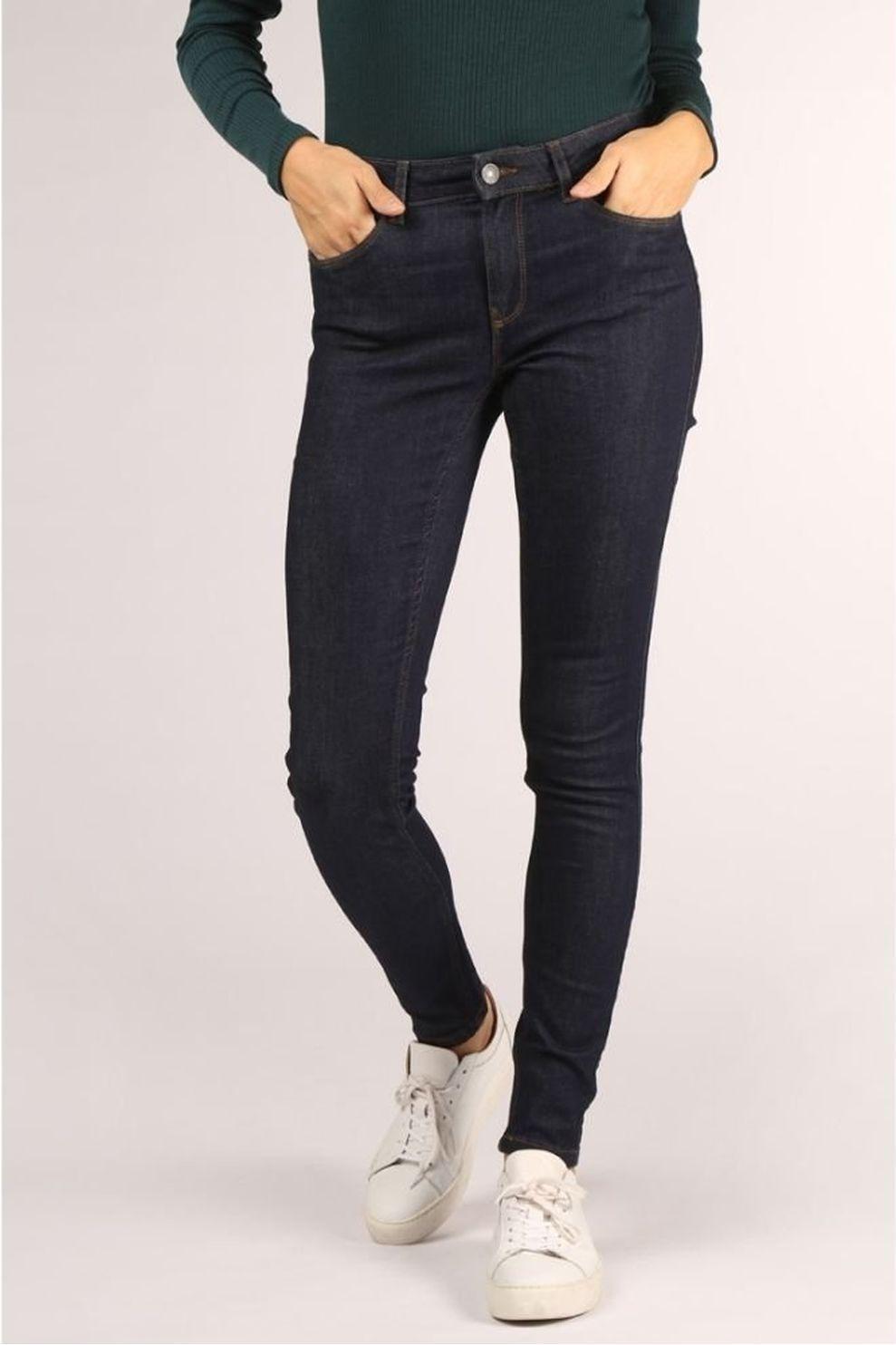 Vero Moda Jeans Seven Shape Up voor dames - Blauw - Maten: 36/32, 36/34, 38/32, 38/34, 40/32, 40/34,