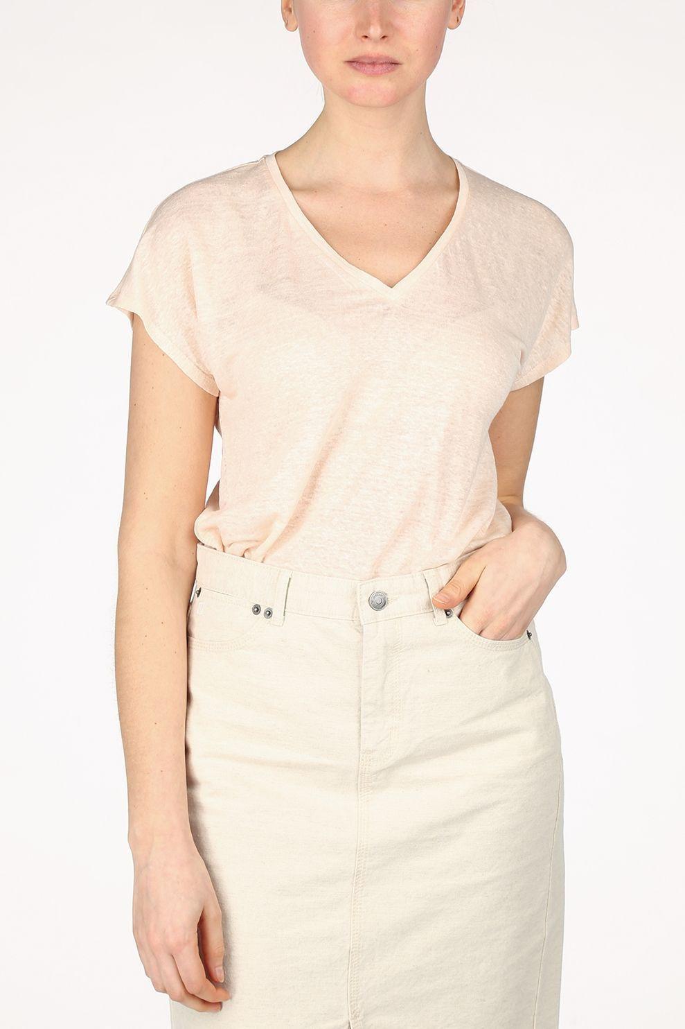 InWear T-Shirt Faylinn Ss voor dames - Roze - Maten: XS, S, M, L, XL