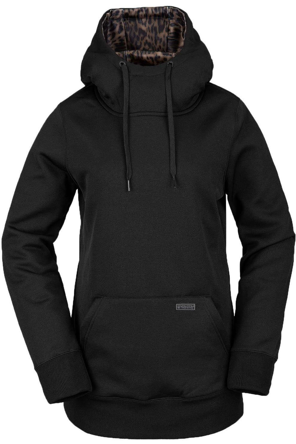 Volcom Trui Yerba Pullover Fleece voor dames - Zwart - Maat: S