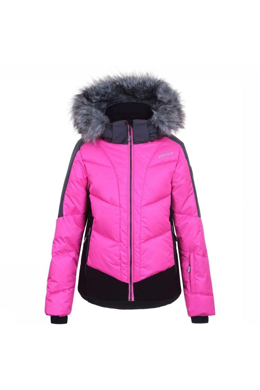 Icepeak Jas Leal Jr voor meisjes - Roze - Maten: 140, 152, 176