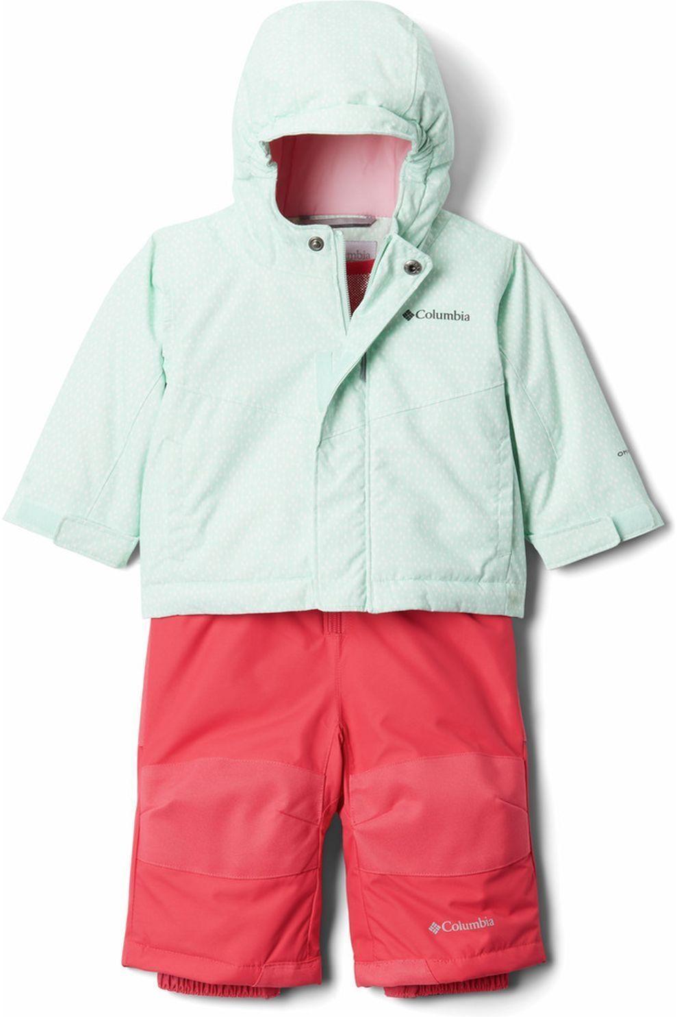 Columbia Skiset Buga voor kids - Blauw/Rood - Maat: 12