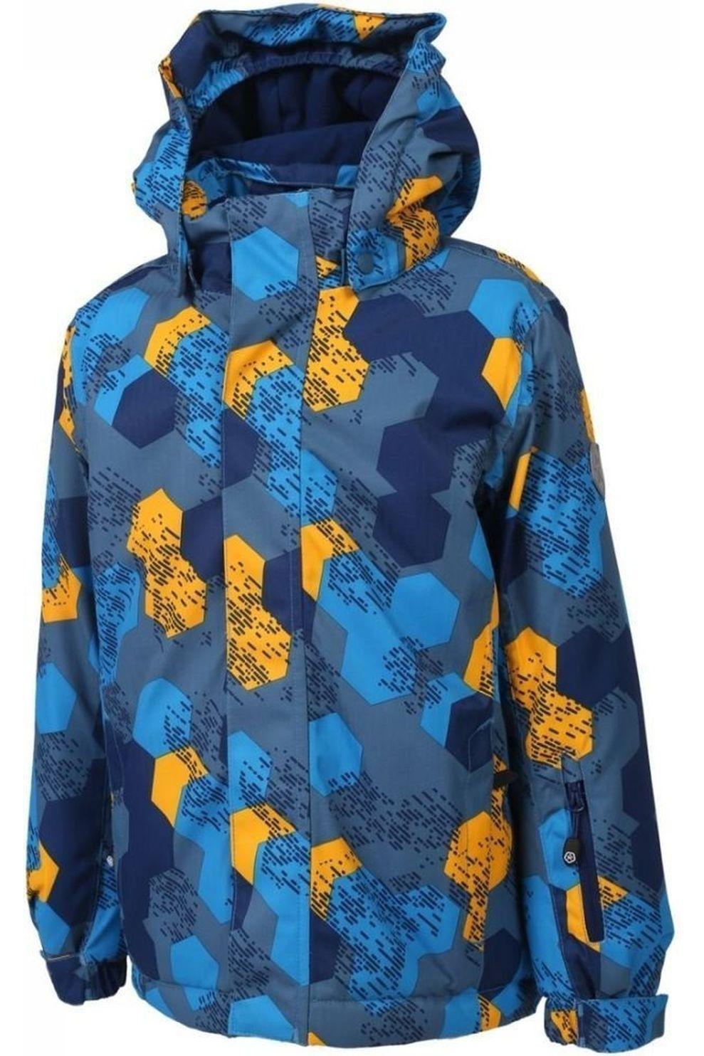 Color Kids Jas Dartwin voor jongens - Blauw/Geel - Maten: 92, 98
