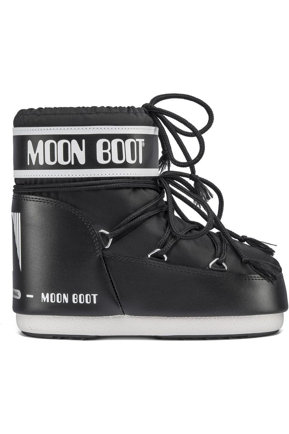 Moon Boot Moonboot Classic Low - Zwart - Maten: 33/35, 36/38, 39/41