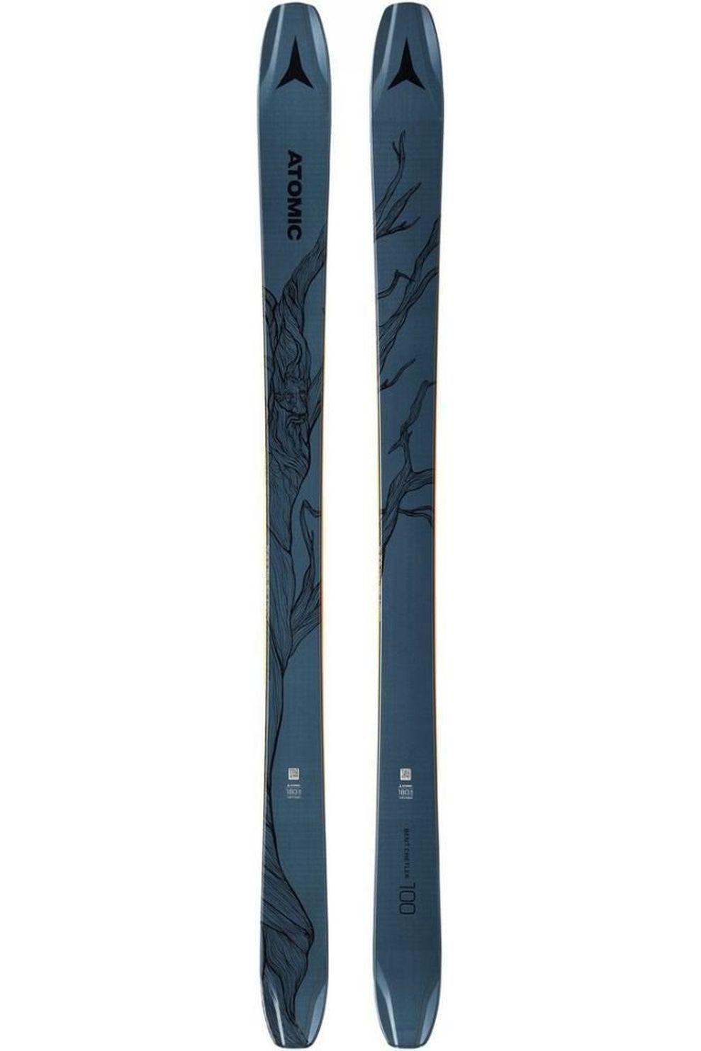 Atomic Ski Bent Chetler 100 + Warden Mnc11Dt - Blauw - Maat: 172