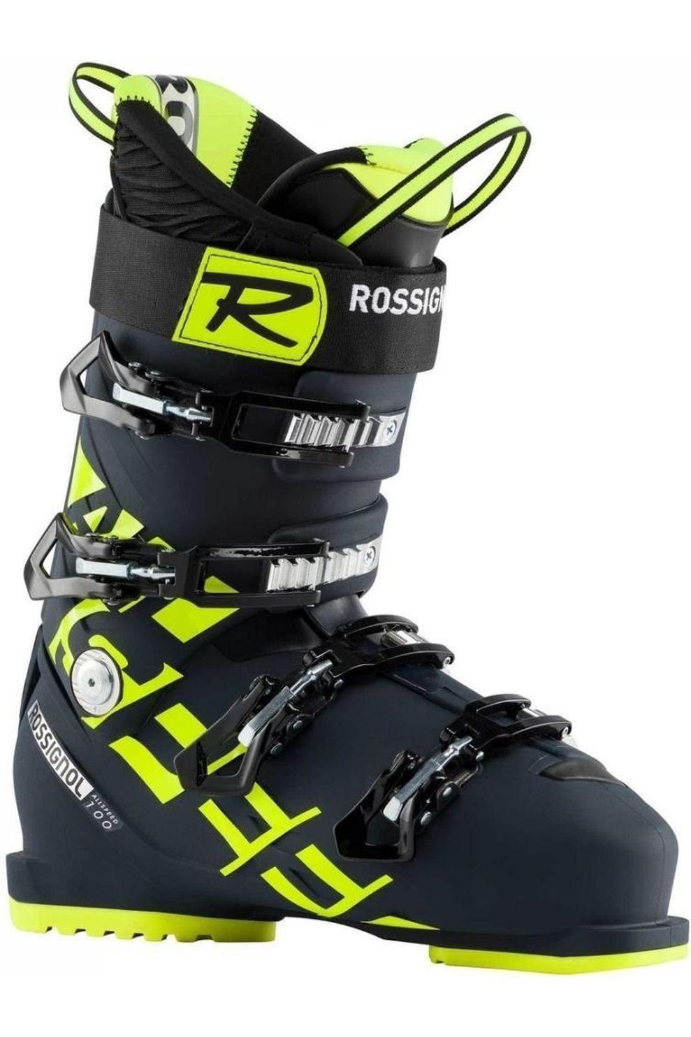 Rossignol Skischoen Allspeed 100 voor heren - Blauw/Geel - Maten: 26.5, 27.5, 28.5, 29.5