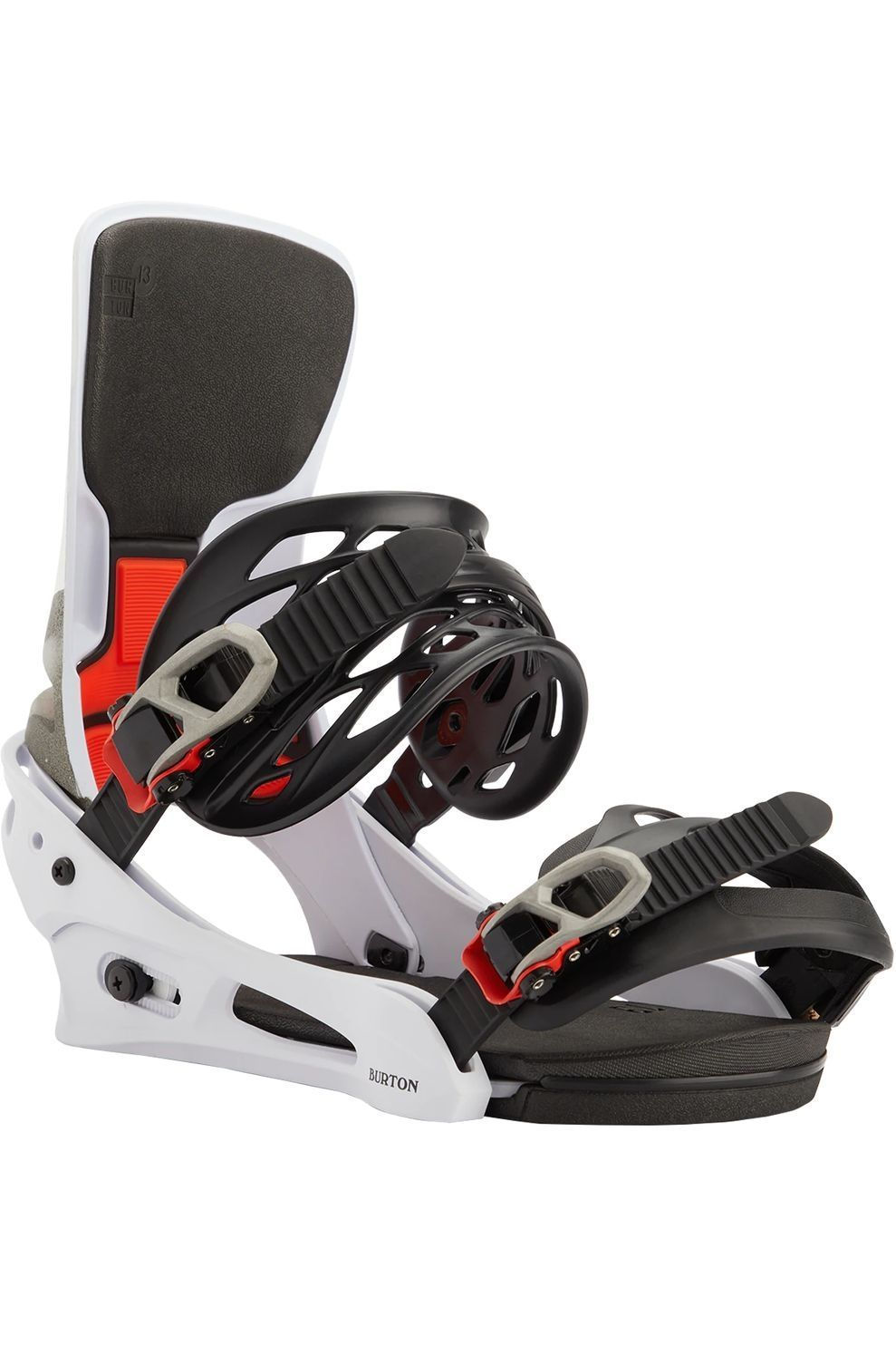 Burton Snowboardbinding Cartel X Reflex - Wit/Zwart - Maten: M, L