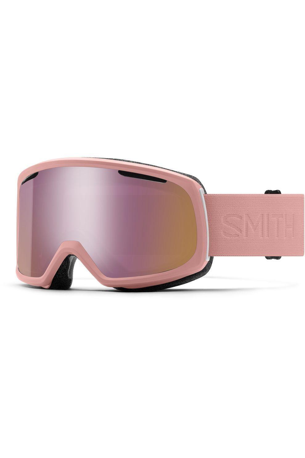Smith Skibril Riot voor dames - Roze/Geel