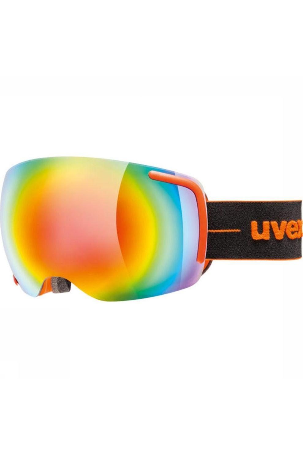 Uvex Skibril Big 40 Fm voor heren - Oranje