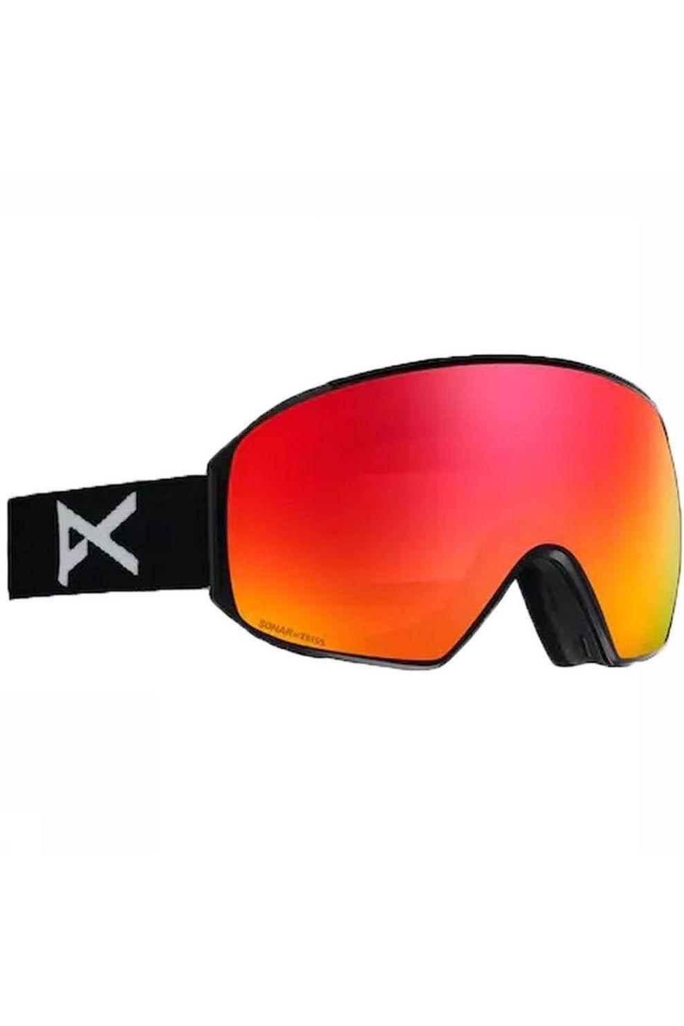 Anon Skibril M4 Toric voor heren - Zwart/Rood