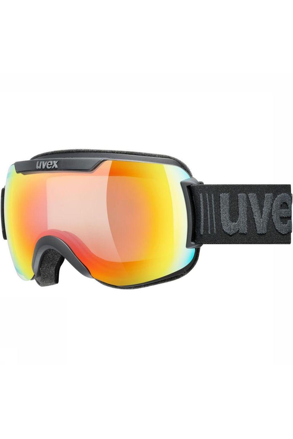 Uvex Skibril Downhill 2000 V voor heren - Zwart/Rood