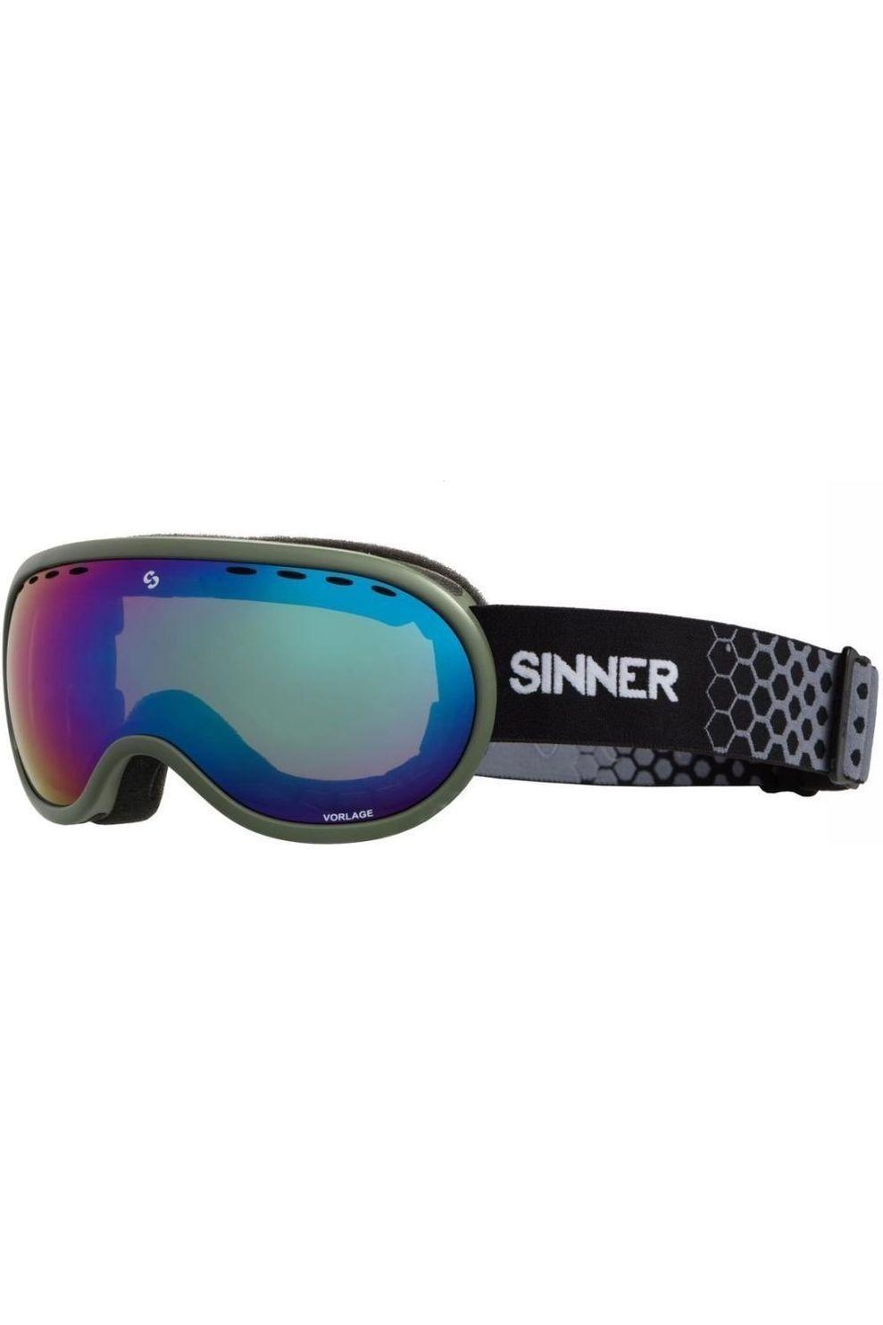 SINNER Skibril Vorlage voor heren - Groen