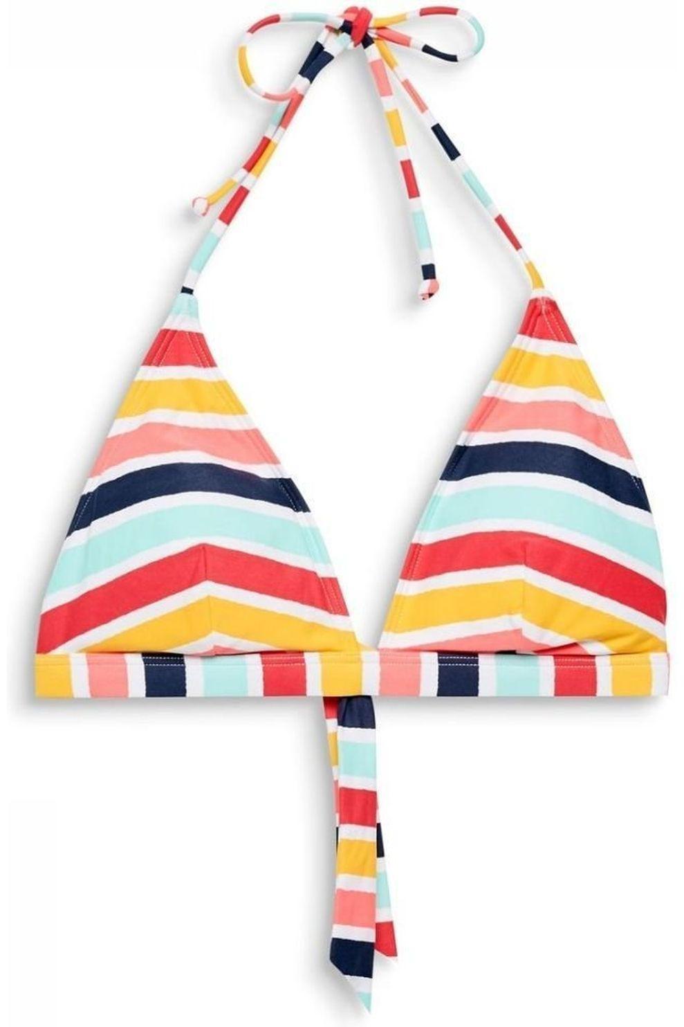 Esprit Bh Treasure Padded Triangle Cup Size B voor dames - Geel/Roze - Maat: 36