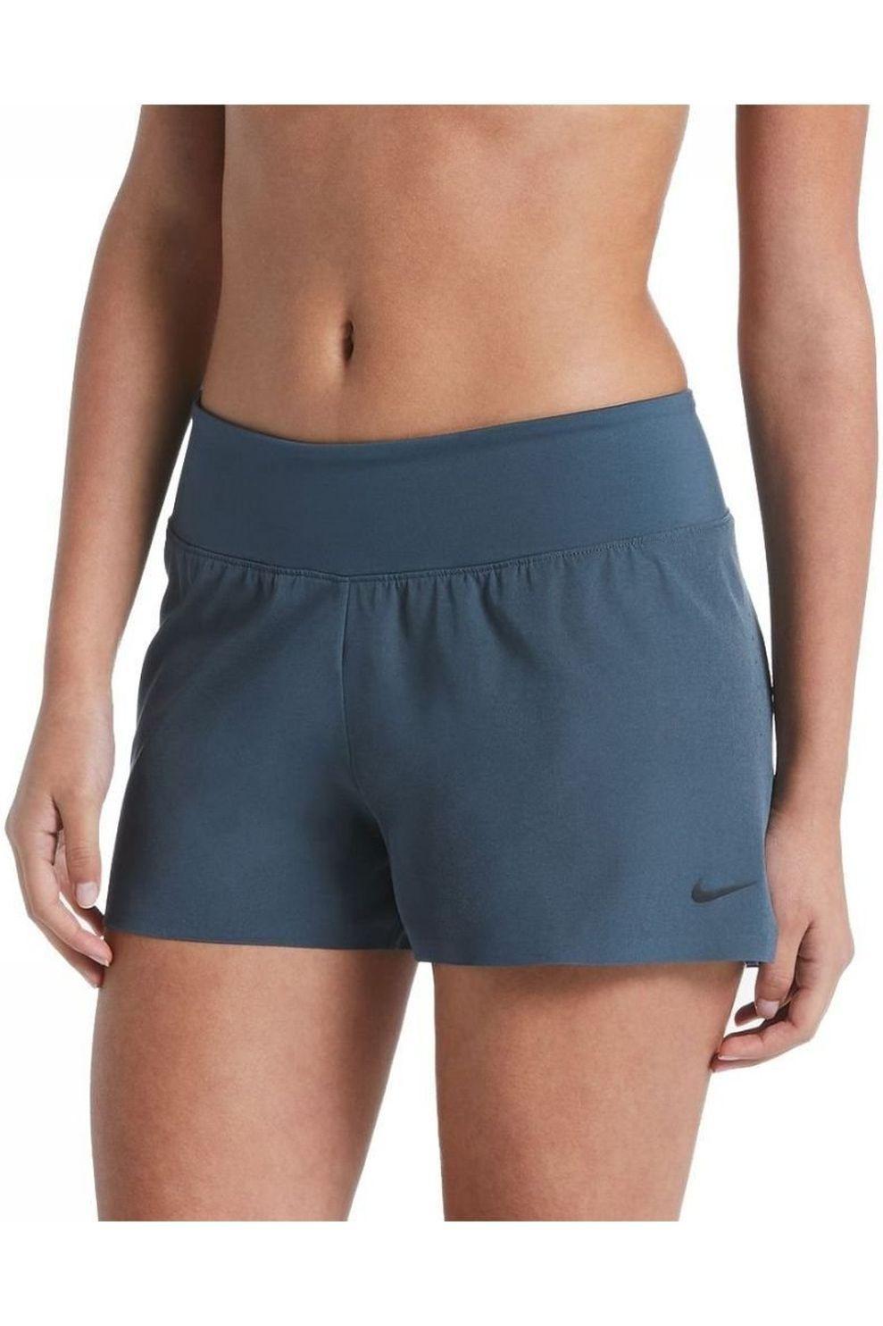 Nike Short Solid Element 2,0 voor dames - Blauw - Maat: L