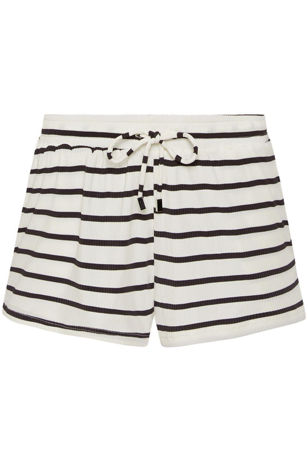 Beachlife Short 170806 voor dames - Zwart/Wit - Maten: S, M, L, XL