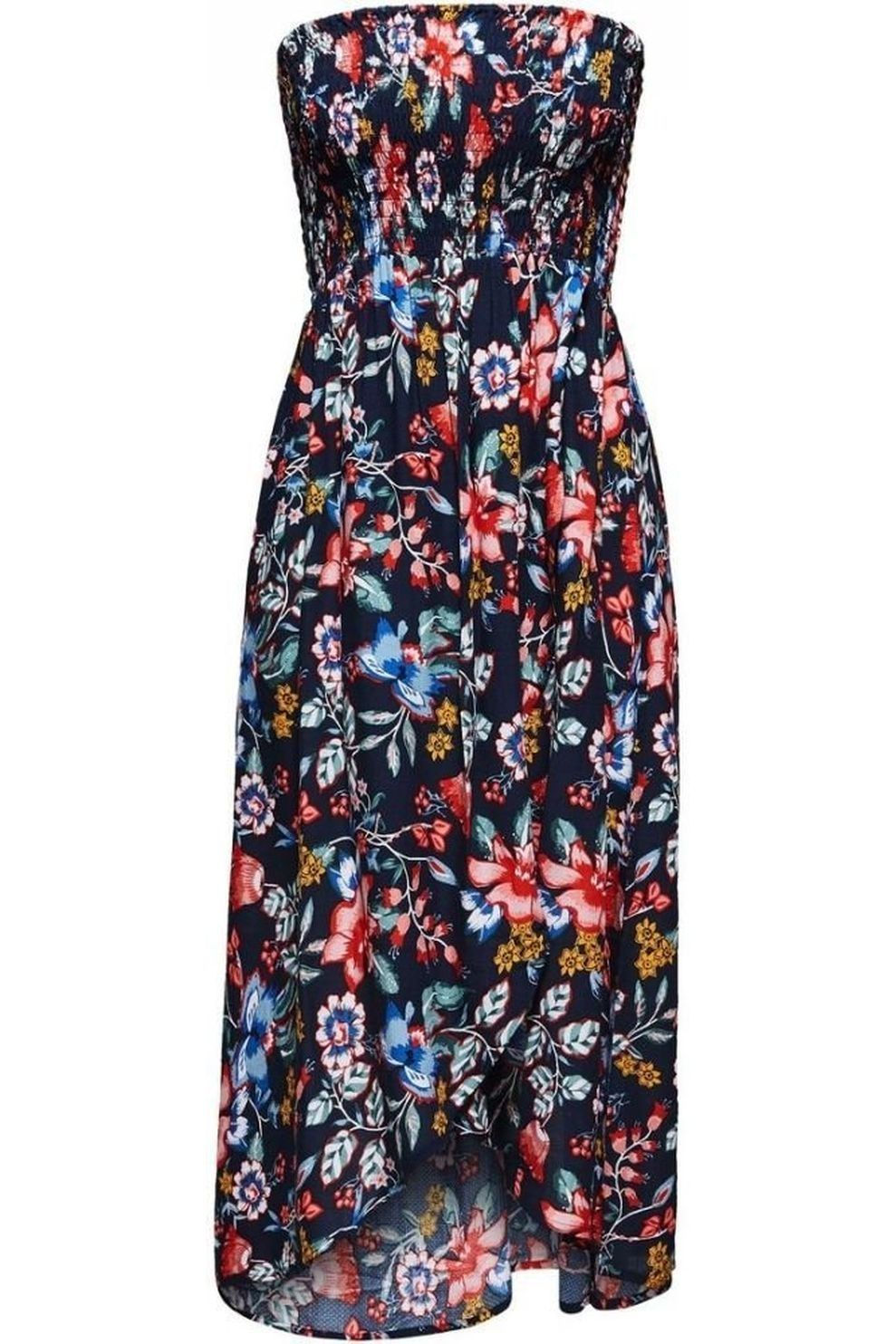 Esprit Jurk Jasmine Beach Tube Dress Smock voor dames - Blauw - Maat: M