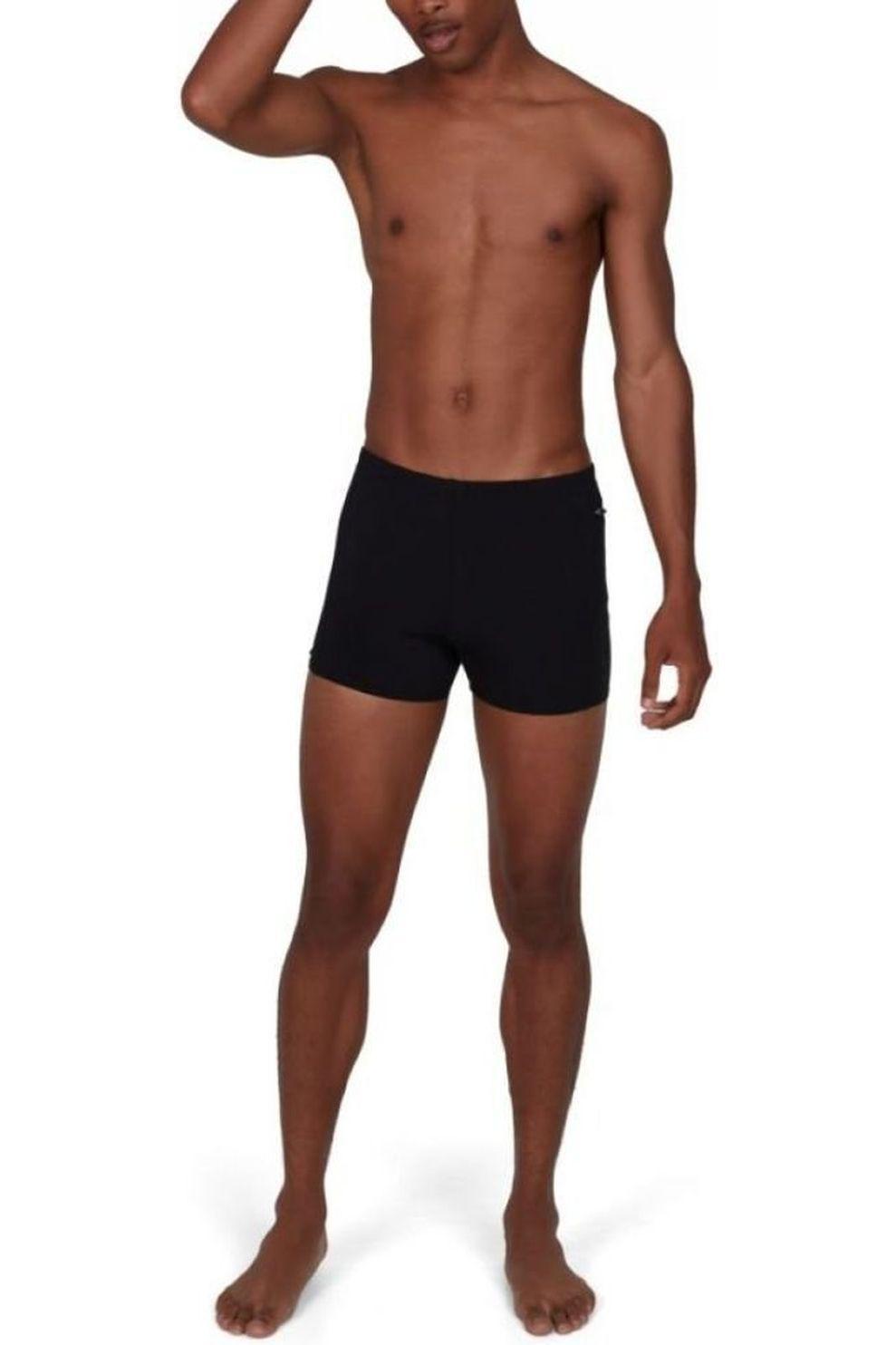 Speedo Slip Pocket Aquashort voor heren - Zwart/Grijs - Maten: 34, 36, 38, 40