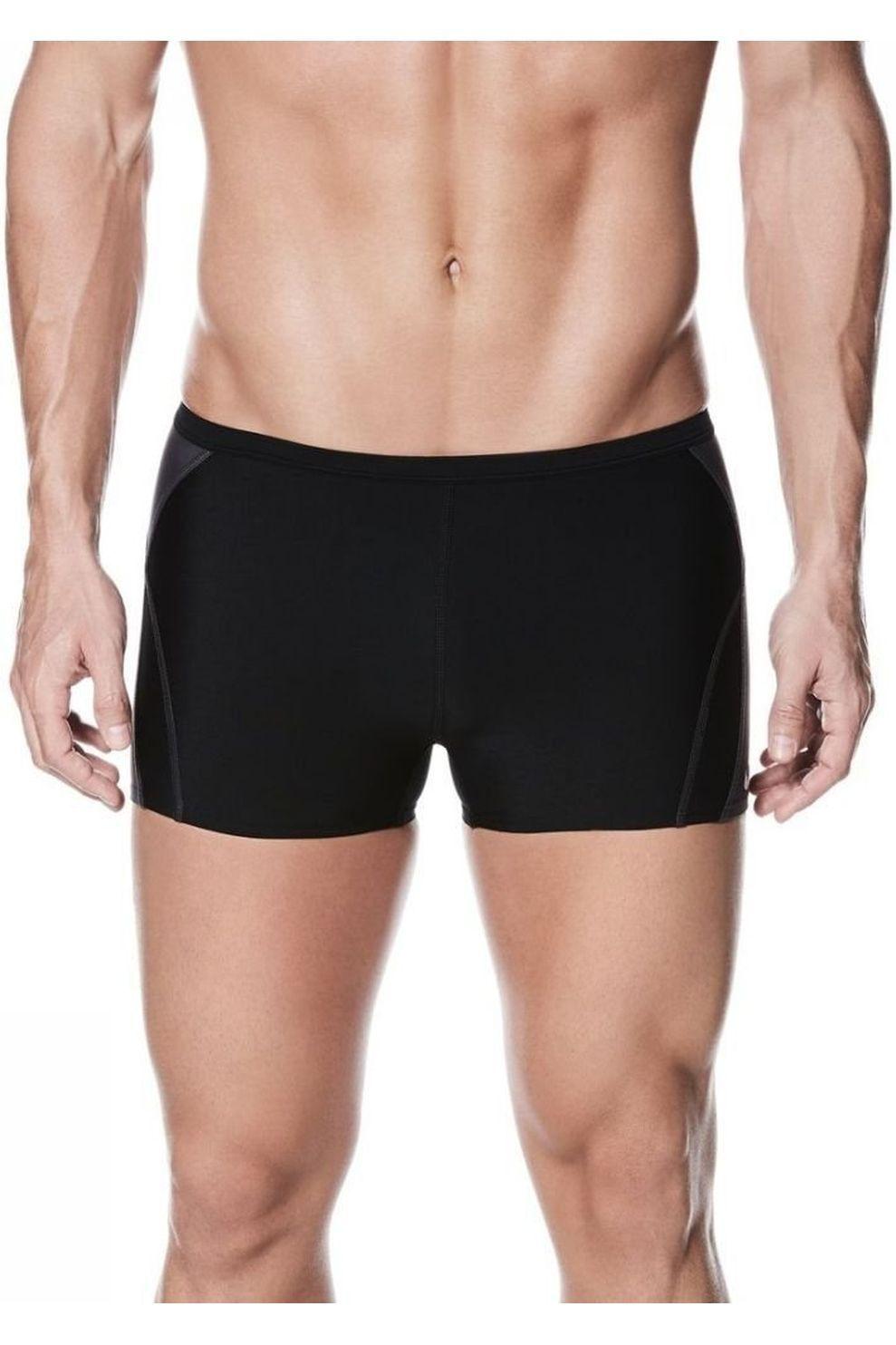 Nike Slip Poly Solids Square Leg voor heren - Zwart - Maat: 52
