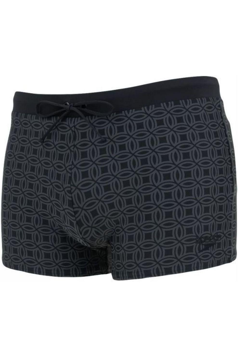 Speedo Valminton Aquashort voor heren - Zwart/Grijs - Maten: 36, 38, 40