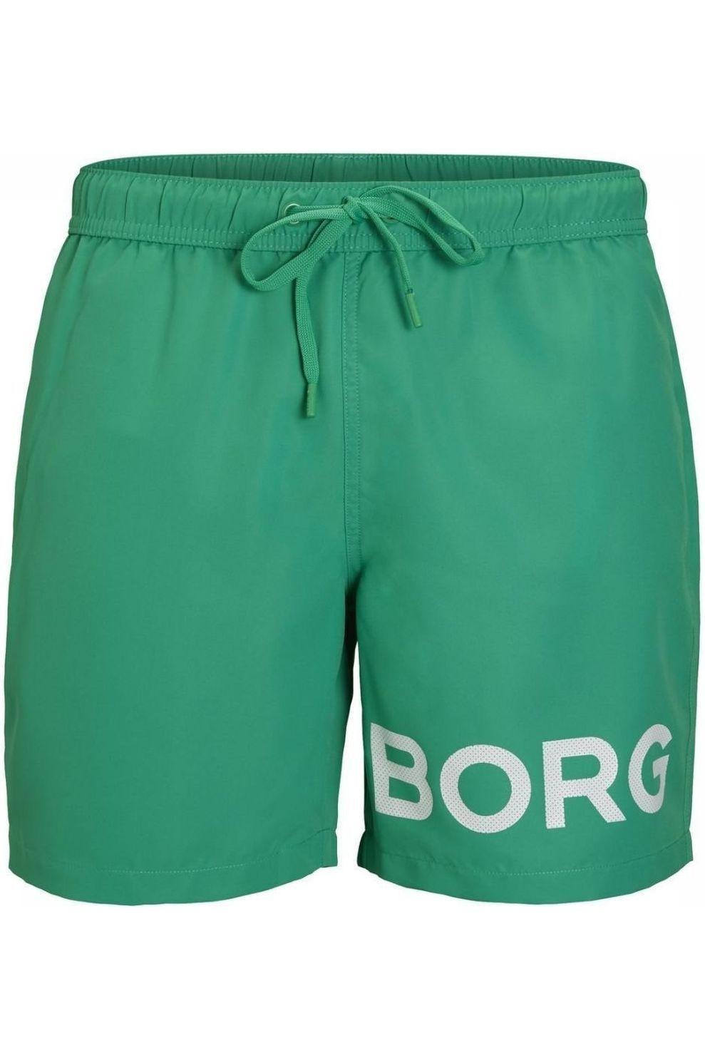 Bjorn Borg Zwemshort Sheldon voor heren - Groen - Maten: XS, S