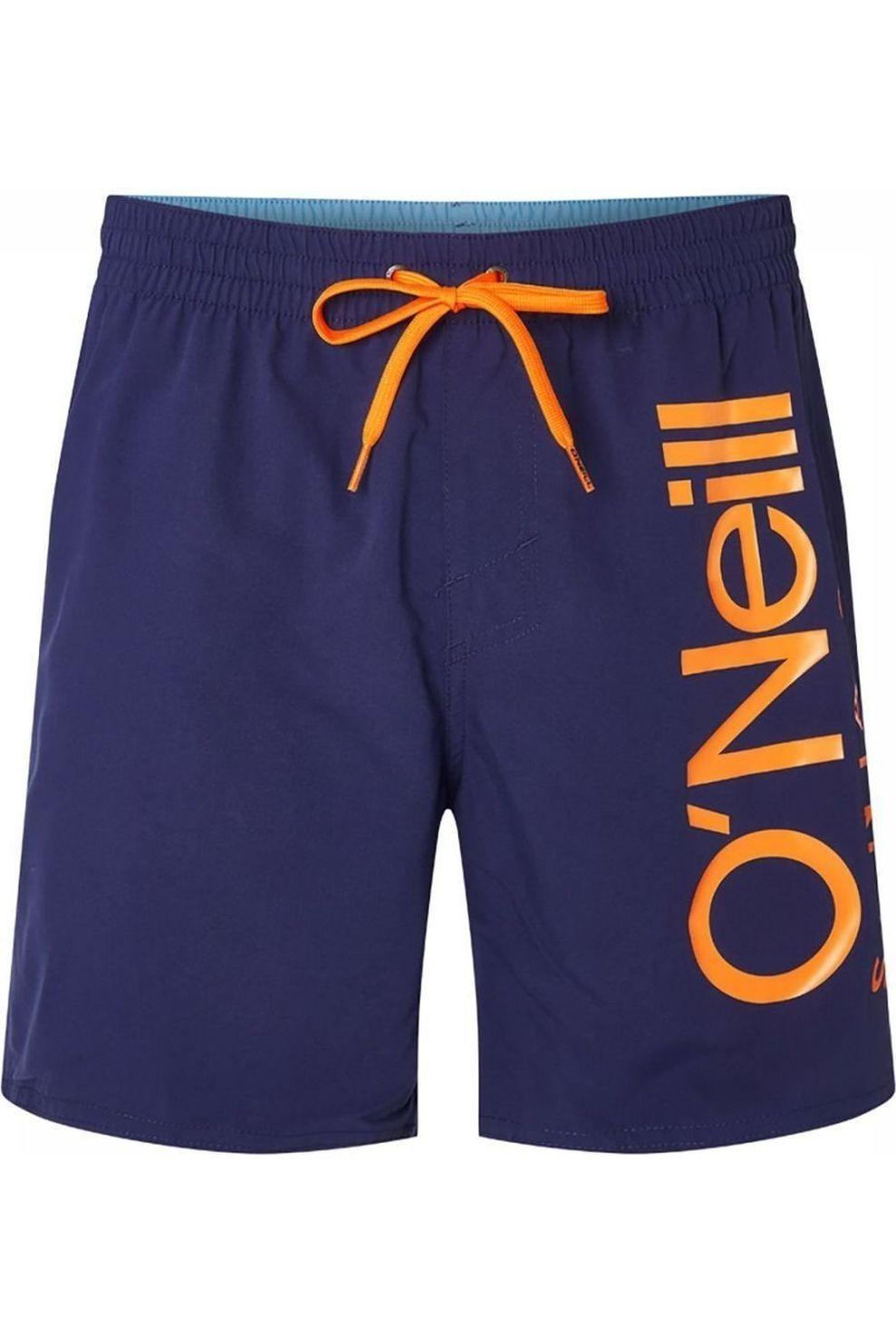 O'Neill Zwemshort Pm Original Cali voor heren - Blauw/Oranje - Maten: XS, S