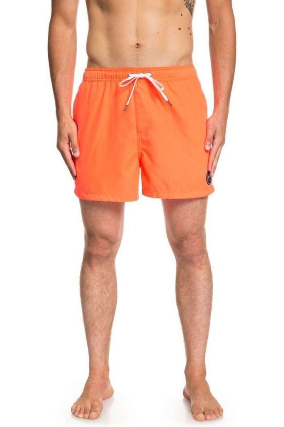 Quiksilver Zwemshort Everyday Volley 15 voor heren - Oranje - Maten: L, XL