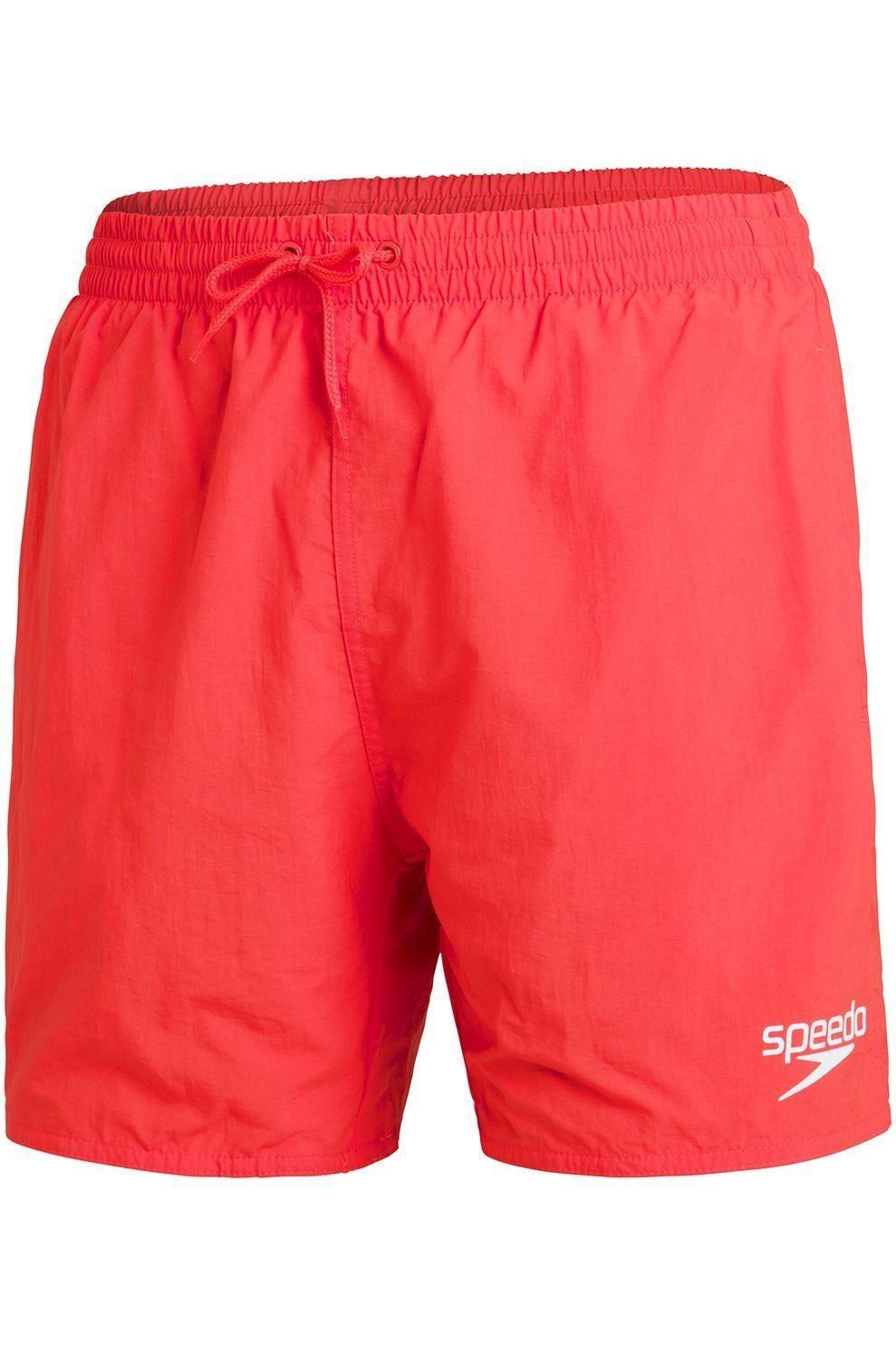 Speedo Zwemshort Essentials 16 voor heren - Oranje/Logo - Maten: XS, S, M, L, XL, XXL