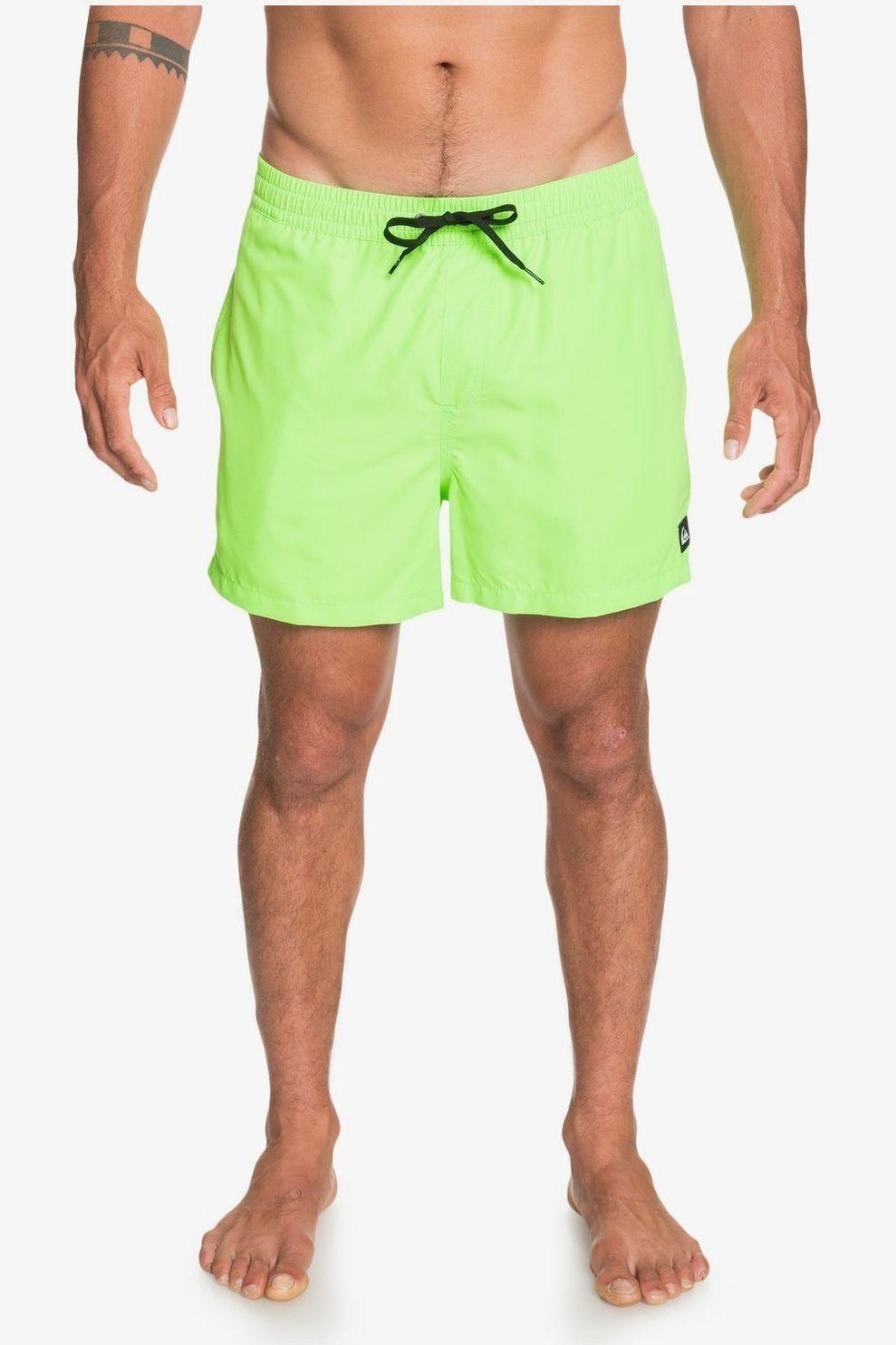 Quiksilver Zwemshort Everyday Volley 15 voor heren - Groen - Maten: S, M, L, XL