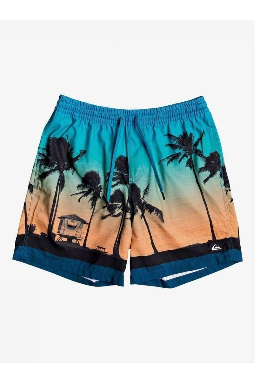 Quiksilver Zwemshort Paradise Volley 17 voor heren - Blauw - Maten: S, M
