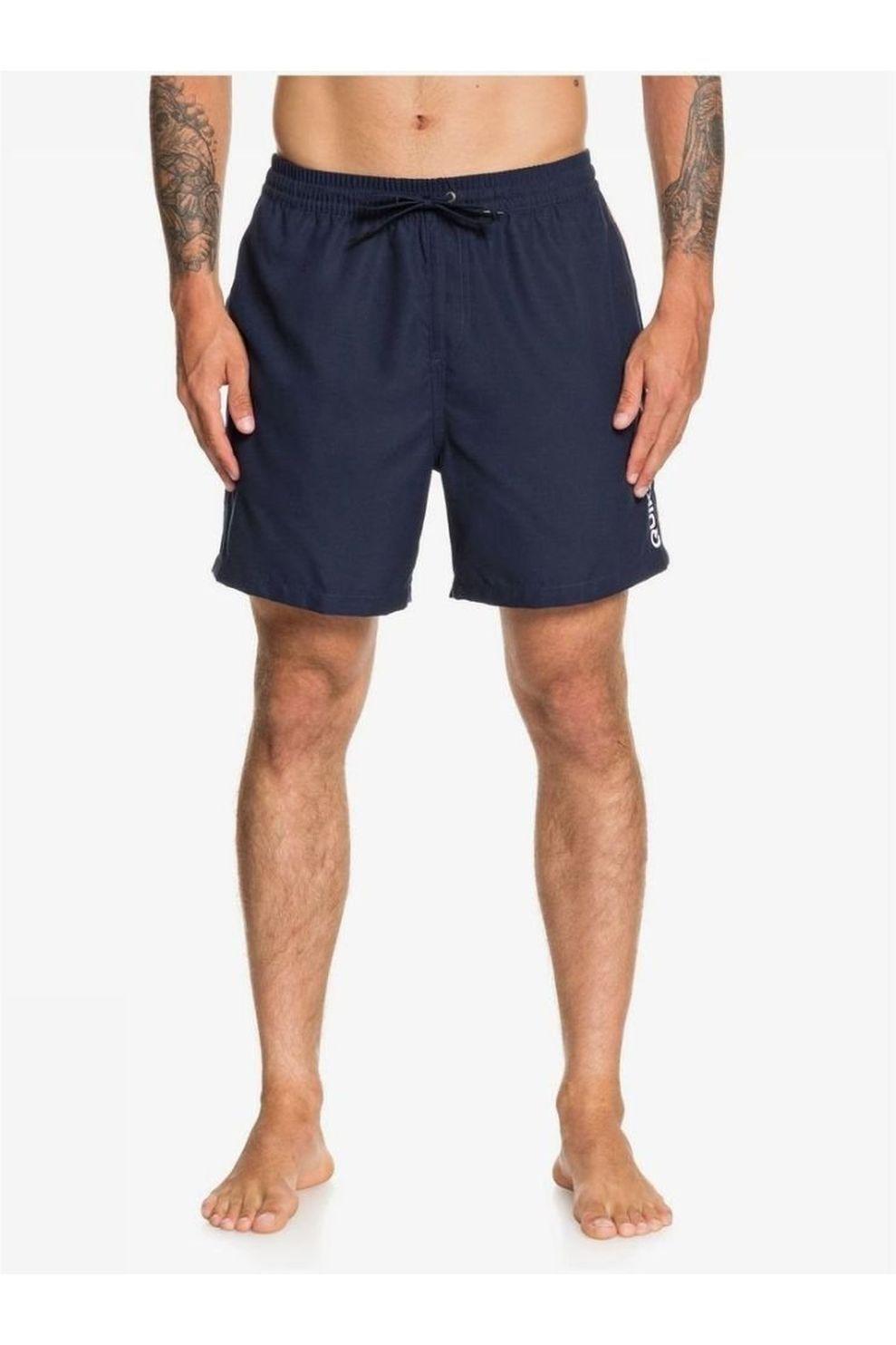Quiksilver Zwemshort Vert Volley 17 voor heren - Blauw - Maten: S, M, L, XL