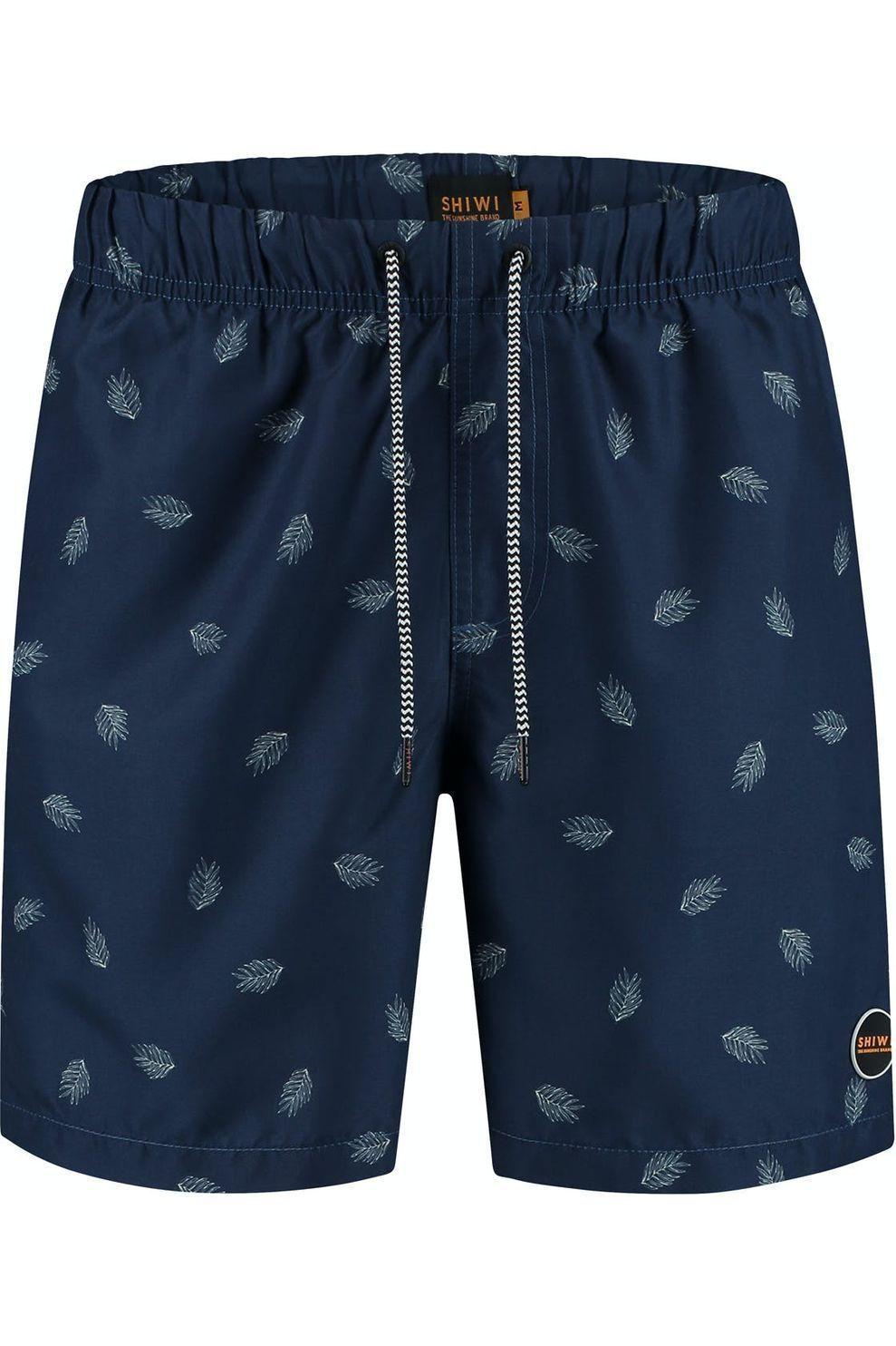 Shiwi Zwemshort Mod Leaf voor heren - Blauw - Maat: L