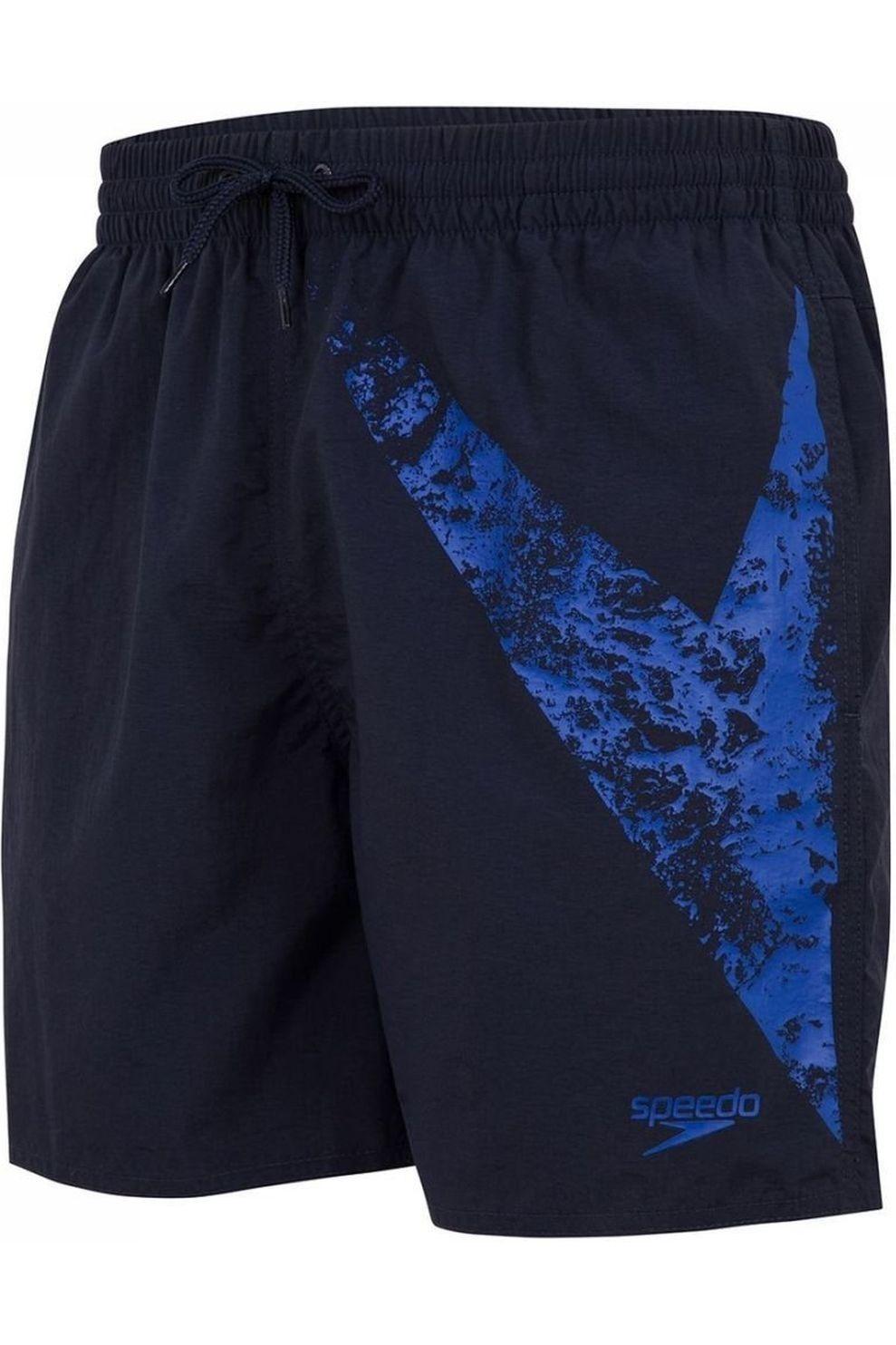 Speedo Zwemshort Boomstar16 voor heren - Blauw - Maten: S, M, L, XL, XXL