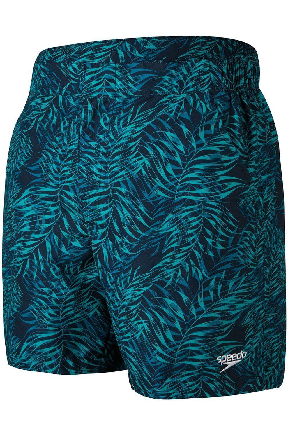 Speedo Zwemshort Vintage Paradise 16 voor heren - Blauw - Maten: S, M, L, XL