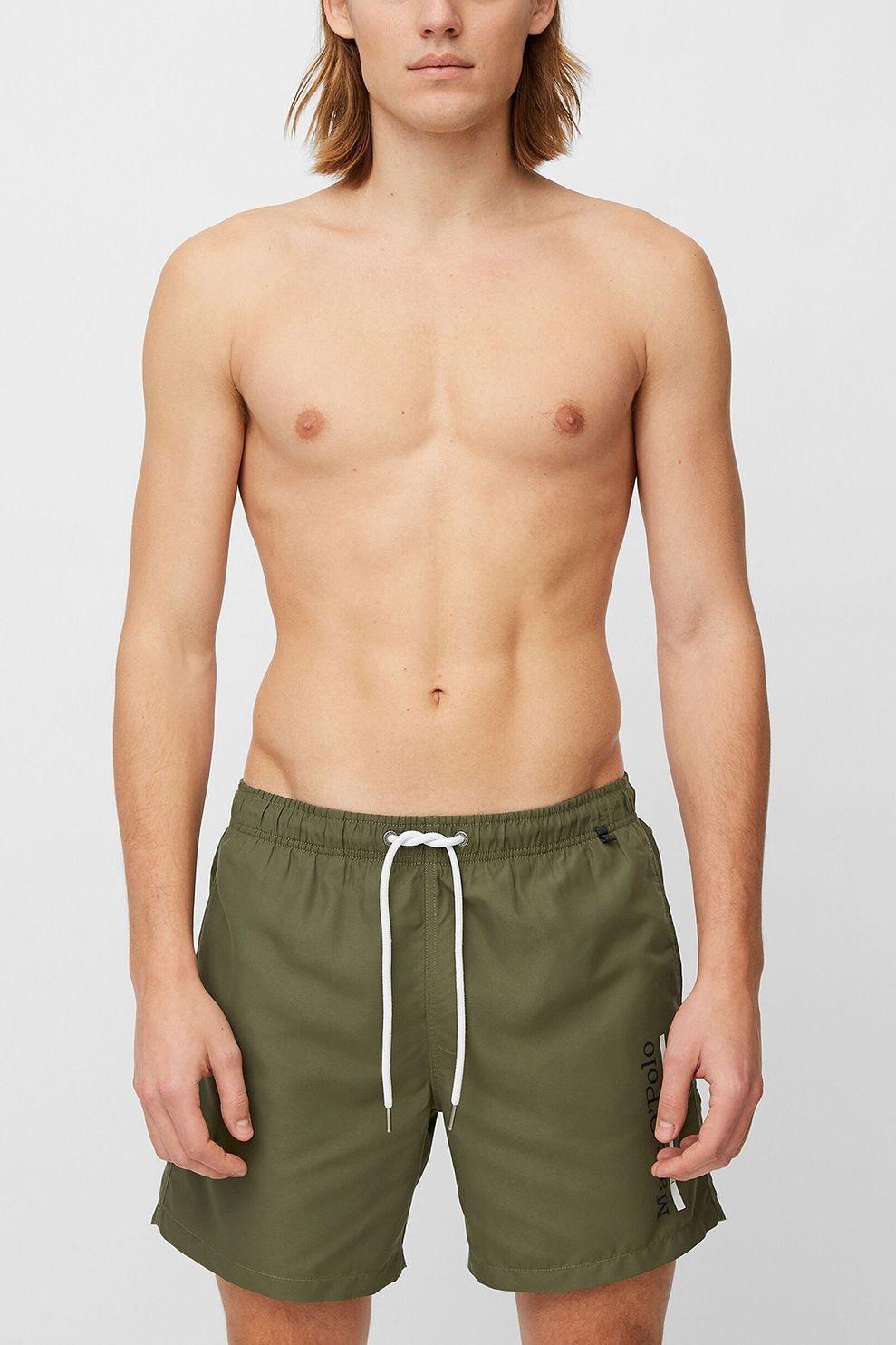 Marc O'Polo Zwemshort Beach Shorts voor heren - DonkerGroen - Maten: S, M, L, XL