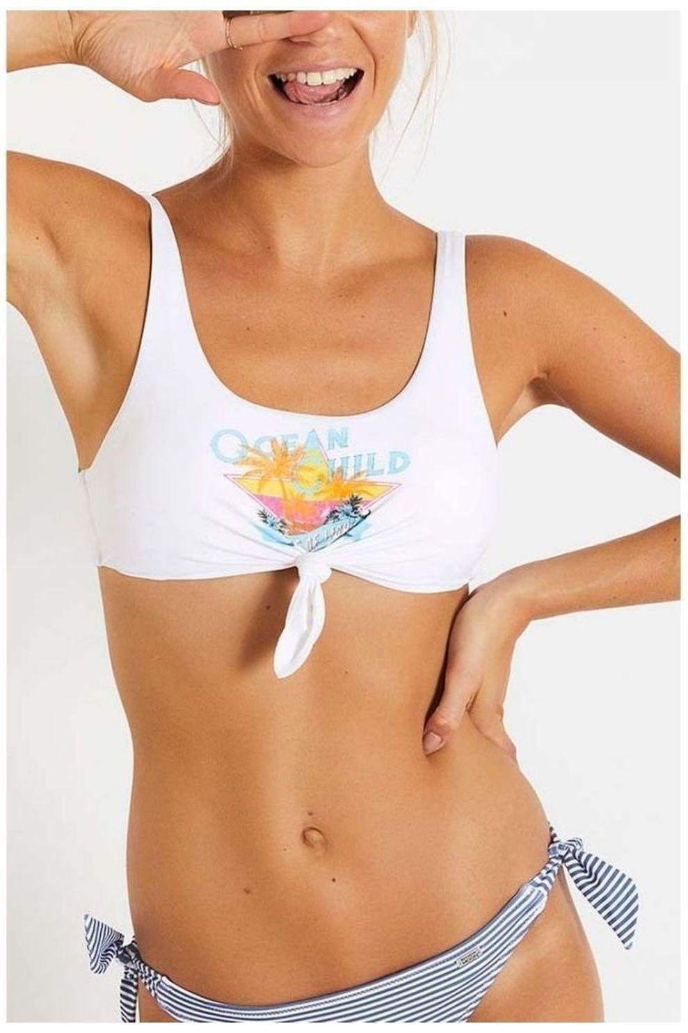 Banana Moon Bh Nouo Oceanchil voor meisjes - Wit - Maten: XXS, XS, S, M, L