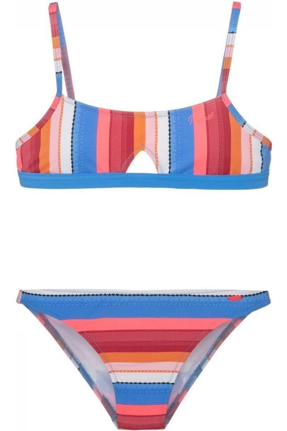 Protest Bikini Josie Jr voor meisjes - Blauw - Maat: 164