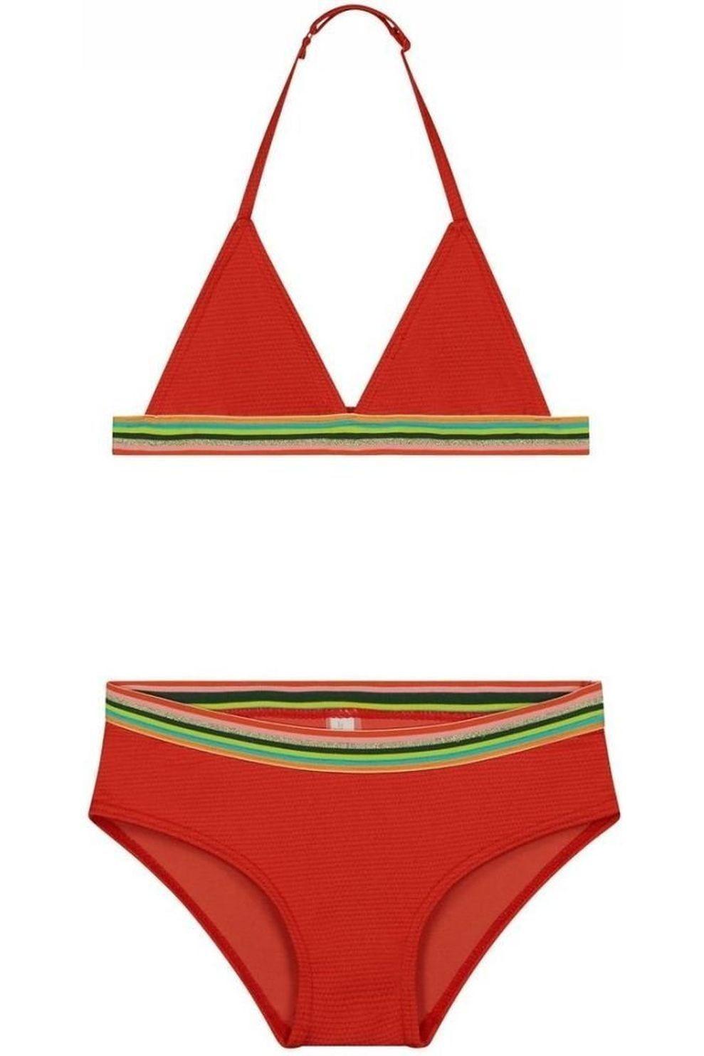 Shiwi Bikini Rainbow Triangle voor meisjes - Oranje - Maten: 152, 176